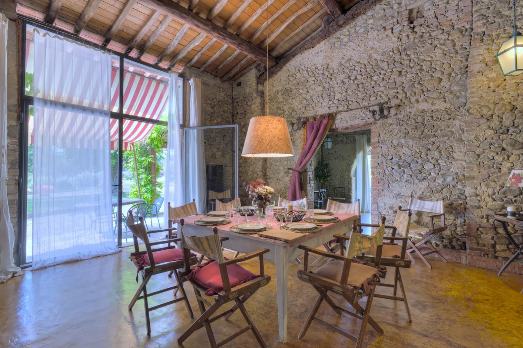 Современная вилла в загородном стиле во Флоренции, регион Кьянти - 32