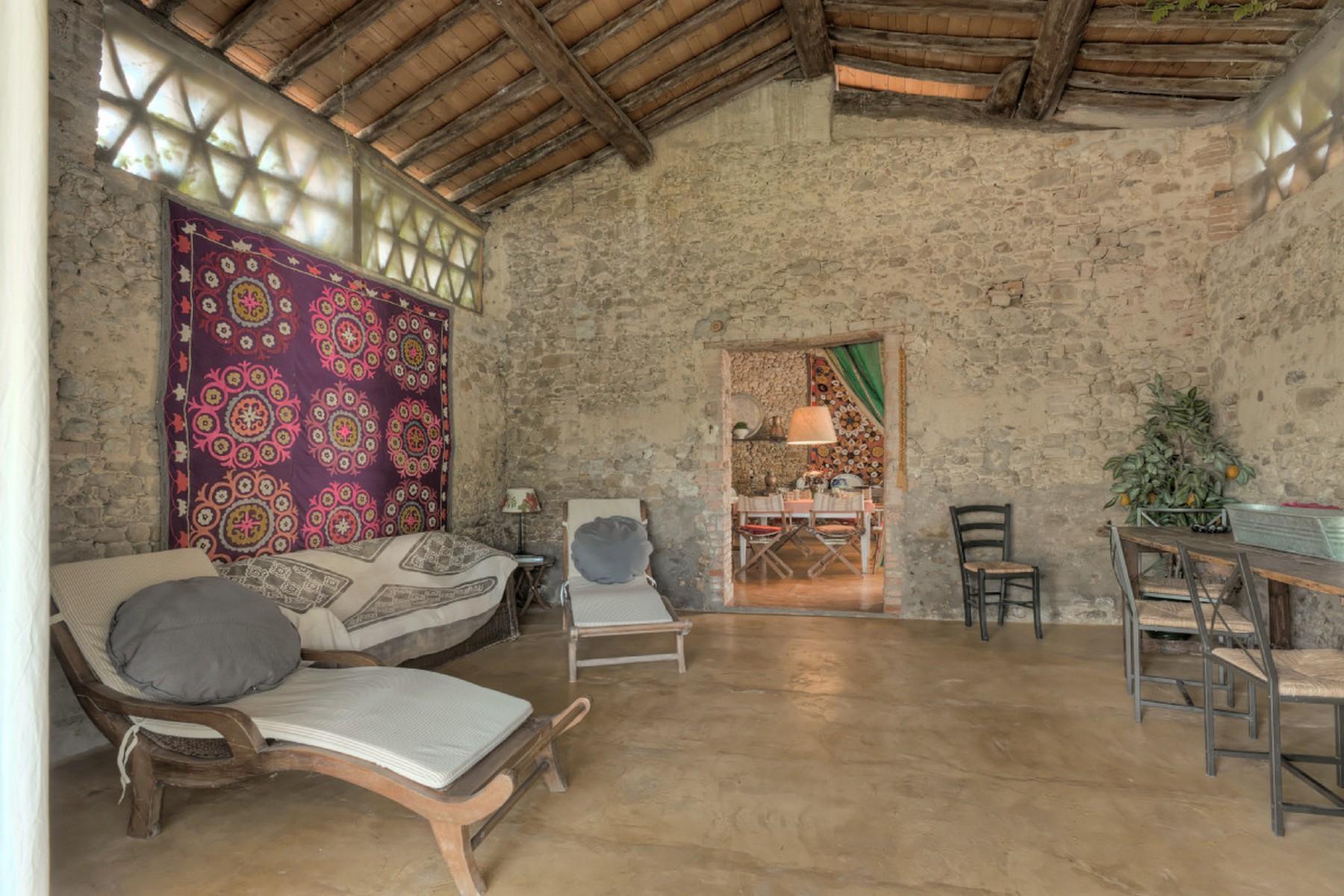 Современная вилла в загородном стиле во Флоренции, регион Кьянти - 33
