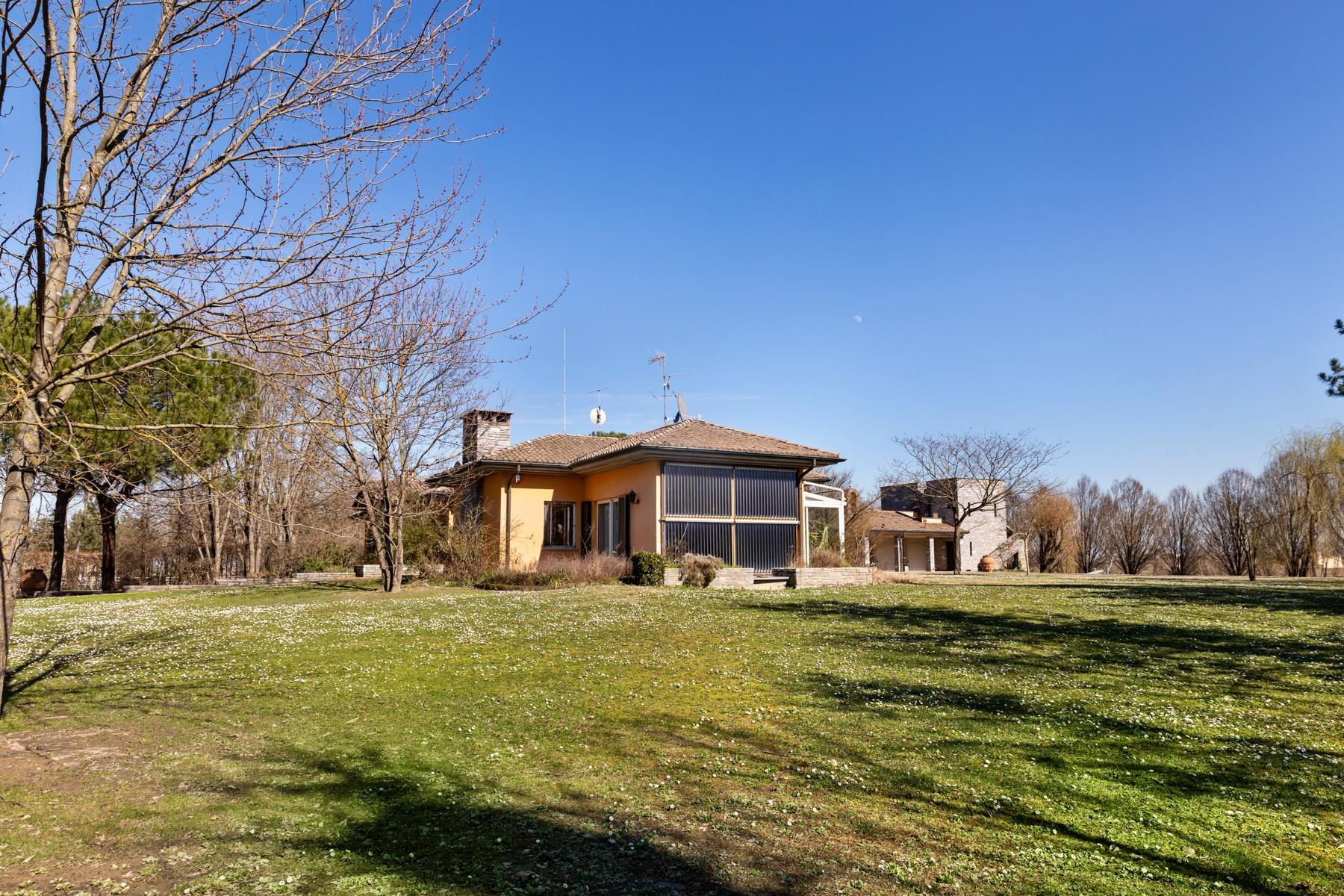 Bright villa with stables in the Oltrep̣ Pavese area - 14