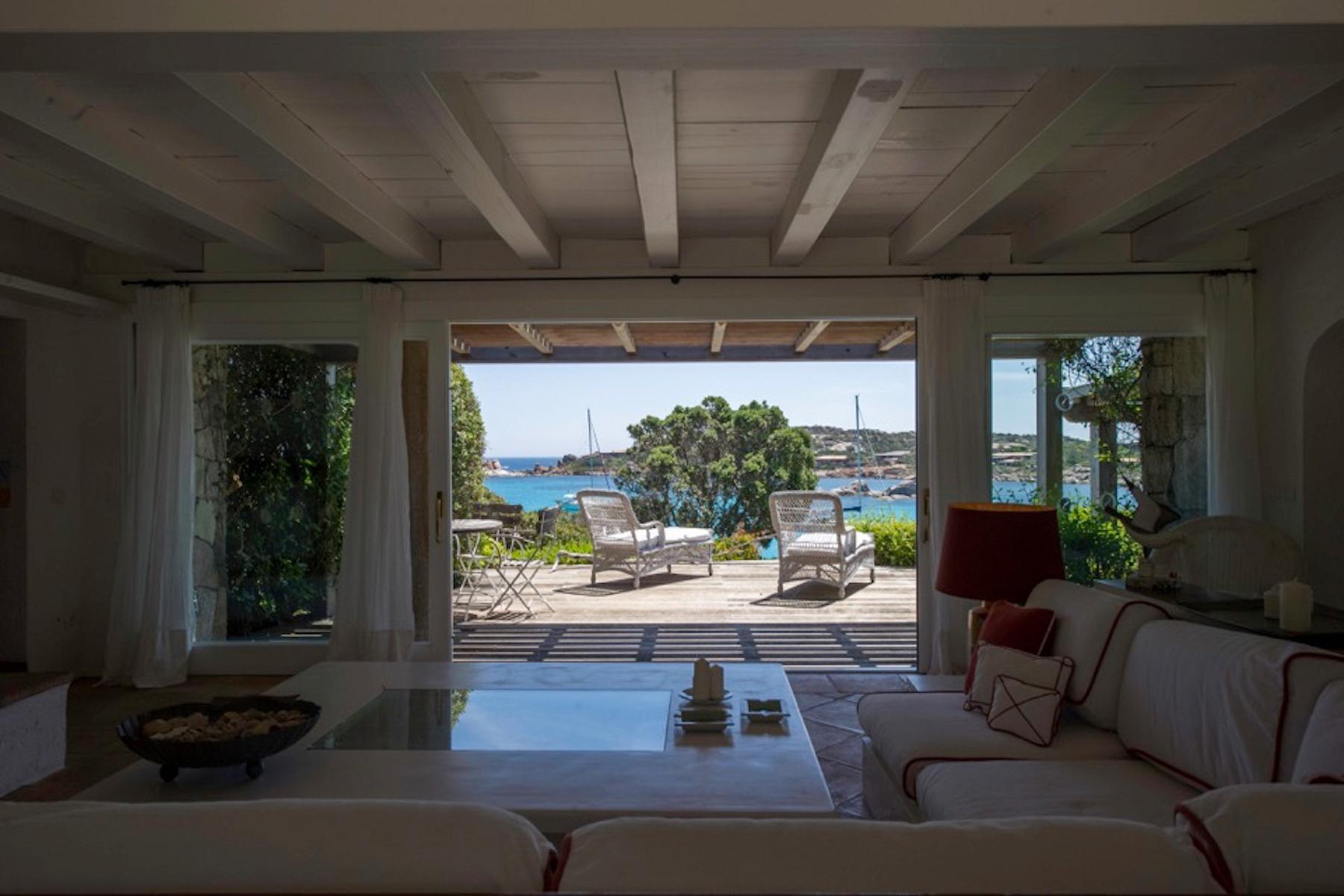 Incantevole villa con accesso diretto al mare all'Ile de Cavallo - 14