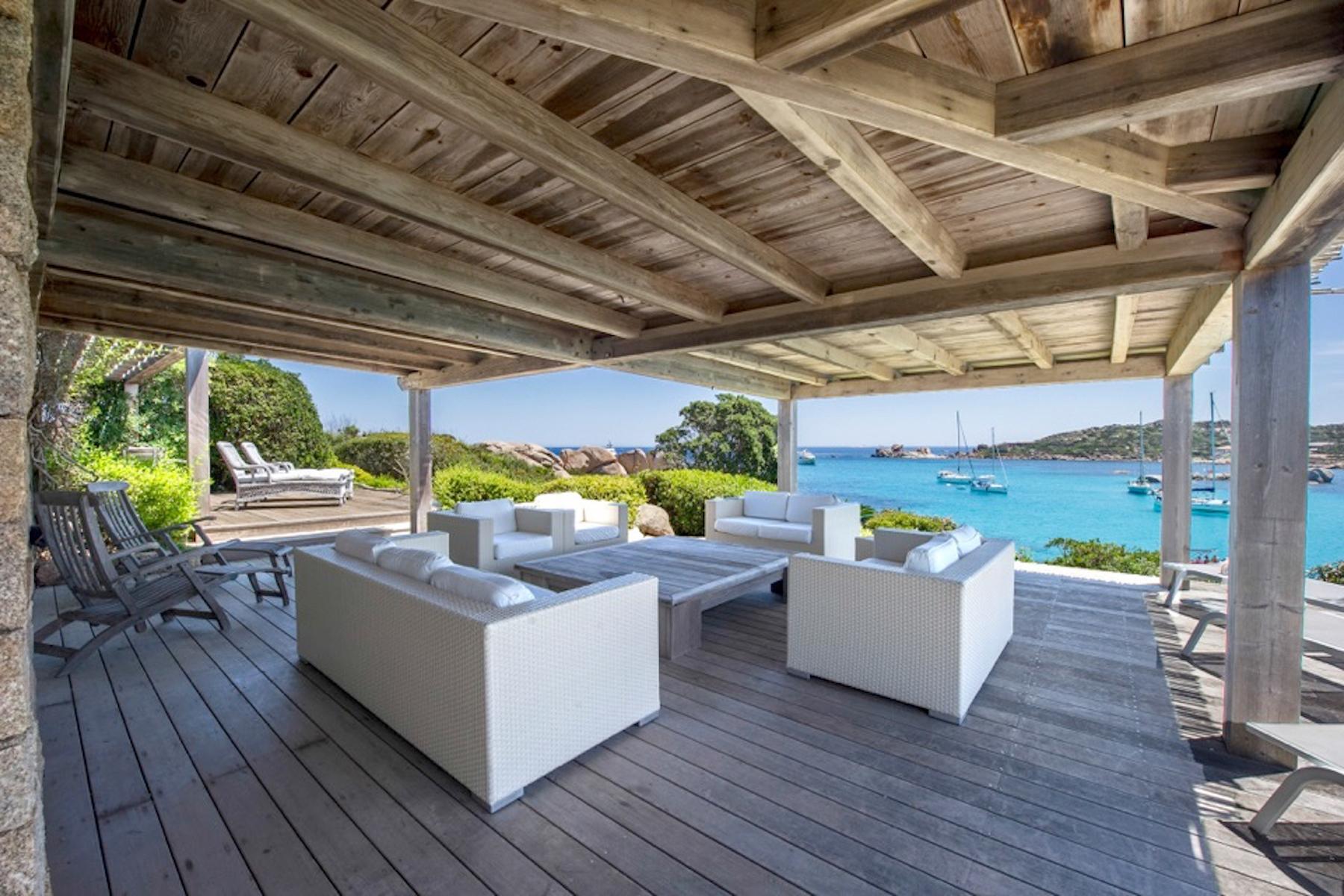 Incantevole villa con accesso diretto al mare all'Ile de Cavallo - 15