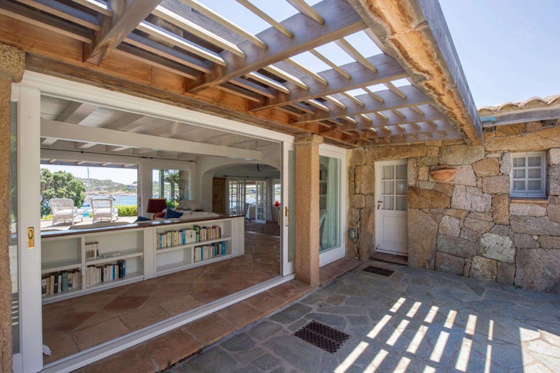 Incantevole villa con accesso diretto al mare all'Ile de Cavallo - 12