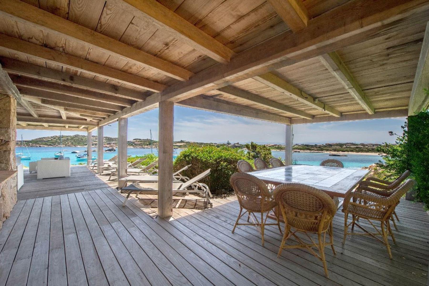 Incantevole villa con accesso diretto al mare all'Ile de Cavallo - 16
