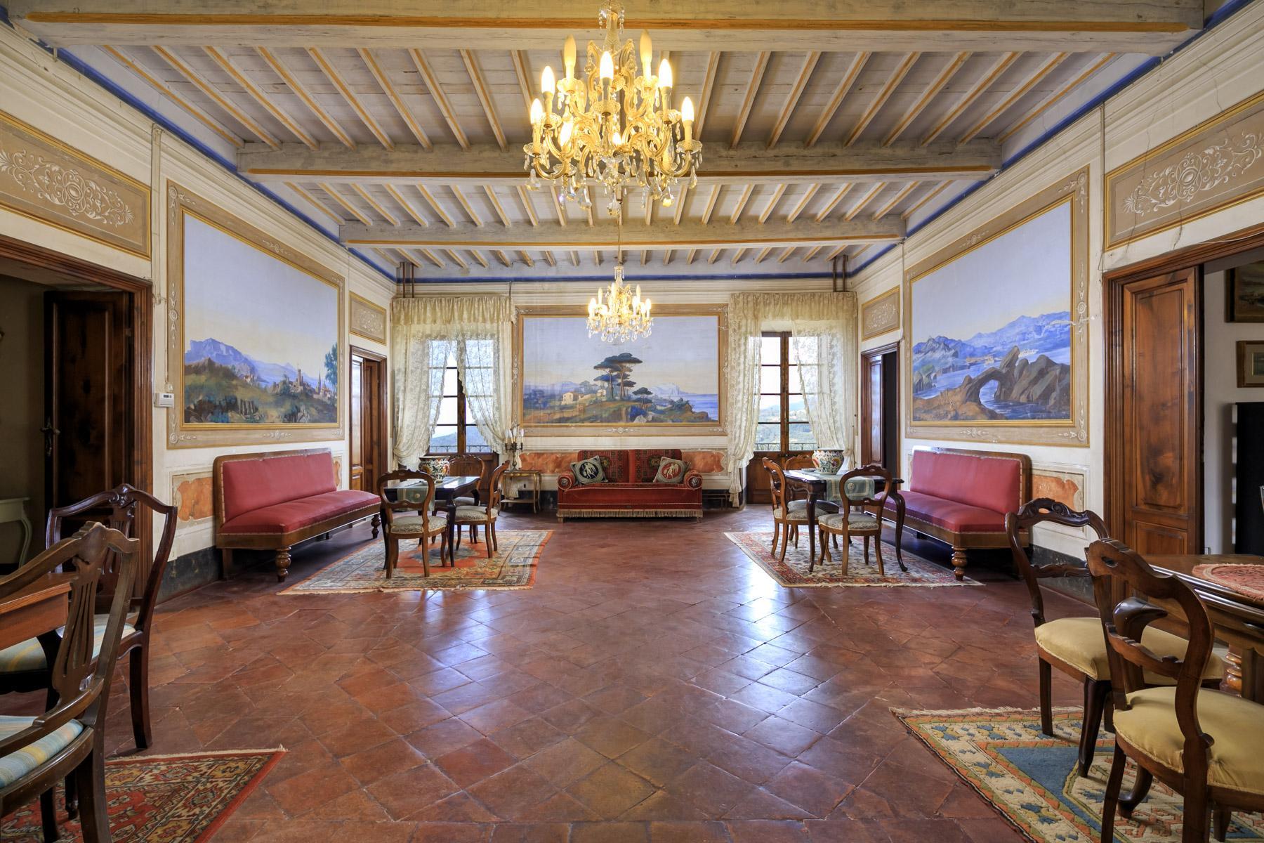 Charmante historische Villa mit Meerblick auf den Hügeln von Massarosa - 4