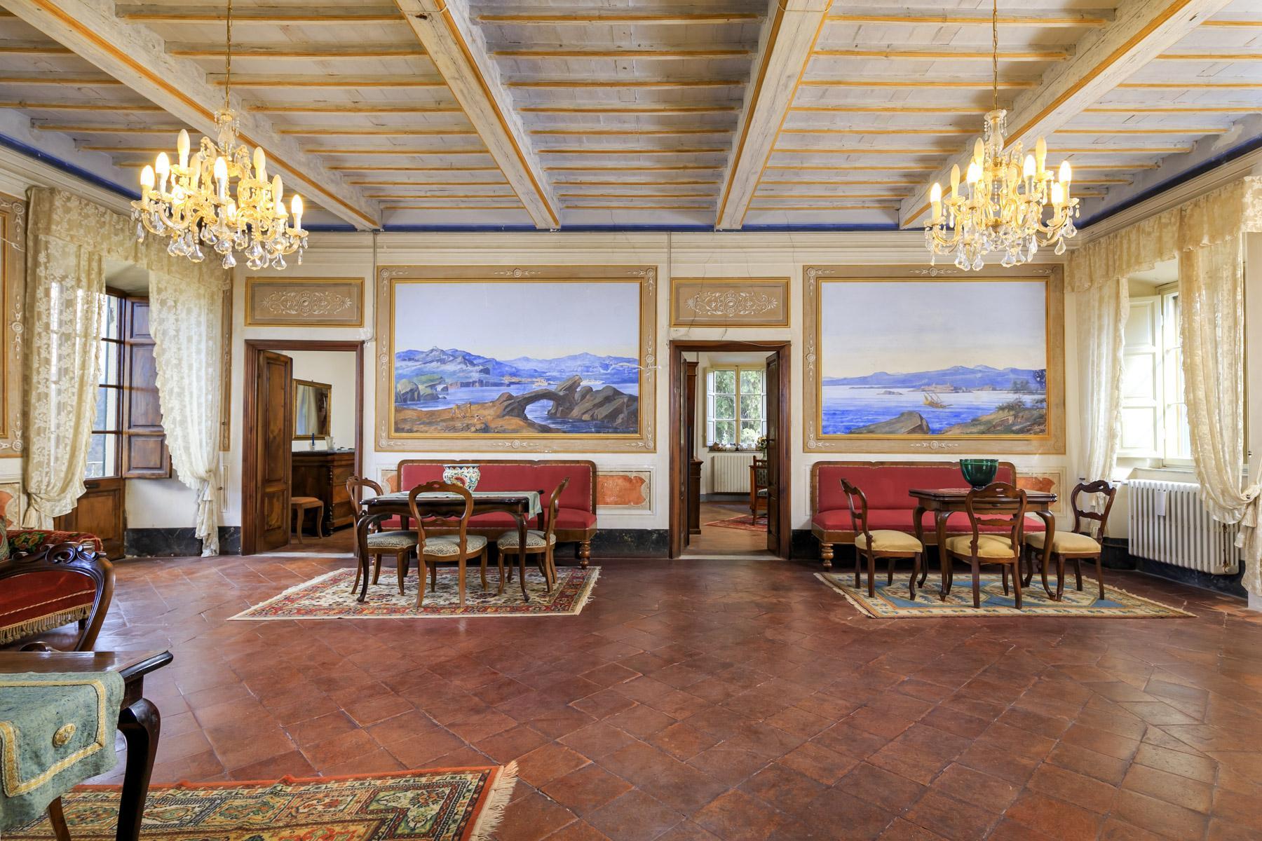 Affascinante villa storica vista mare sulle colline di Massarosa - 5