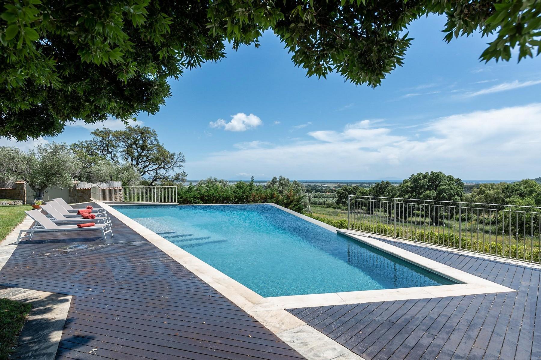 Elegant villa with seaview in Castiglione della Pescaia - 15