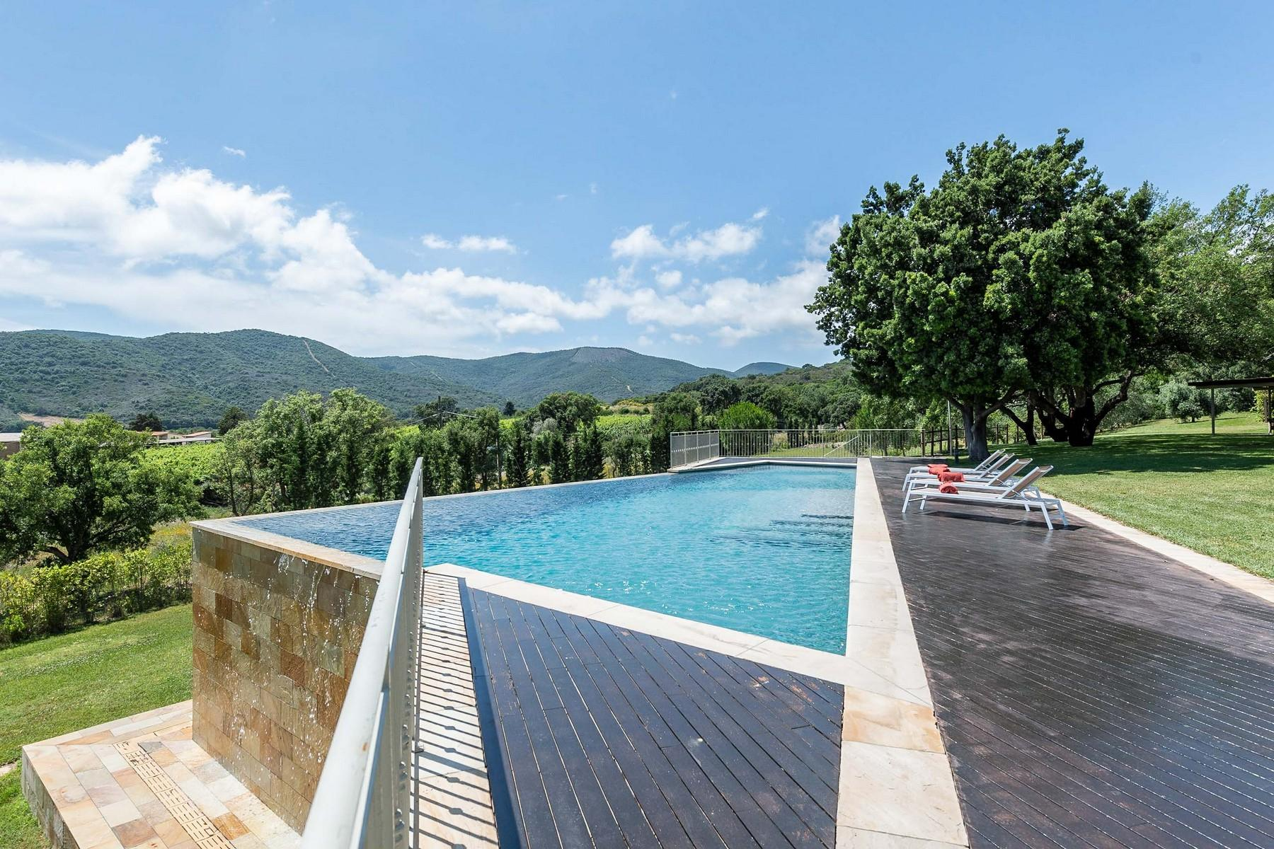 Elegant villa with seaview in Castiglione della Pescaia - 13