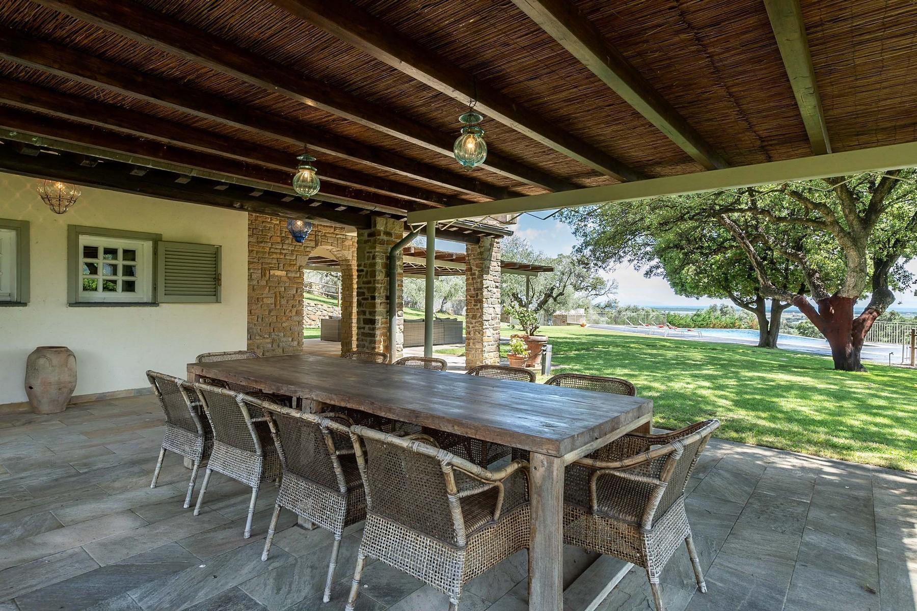 Elegant villa with seaview in Castiglione della Pescaia - 10
