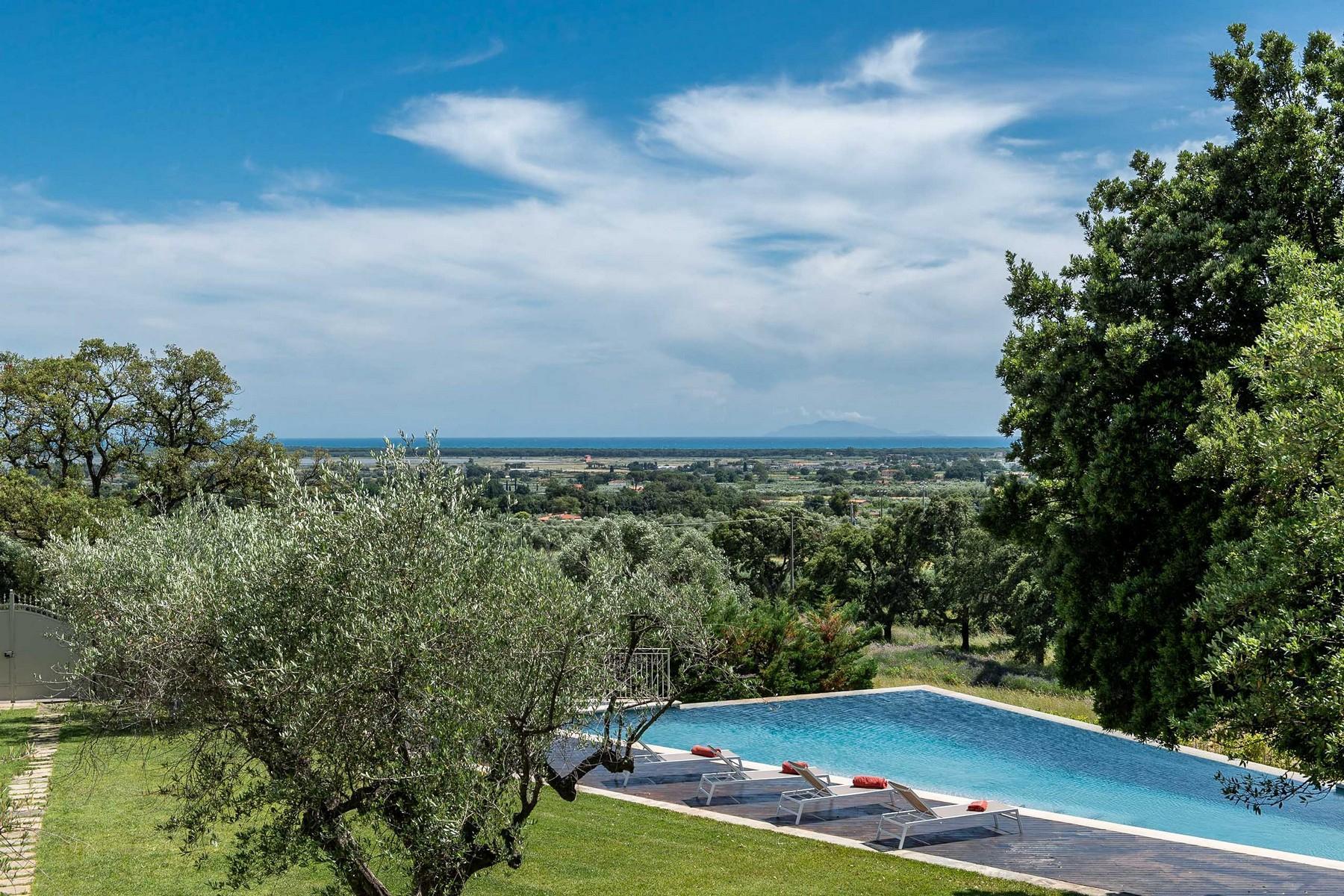 Elegante villa vista mare a Castiglione della Pescaia - 1