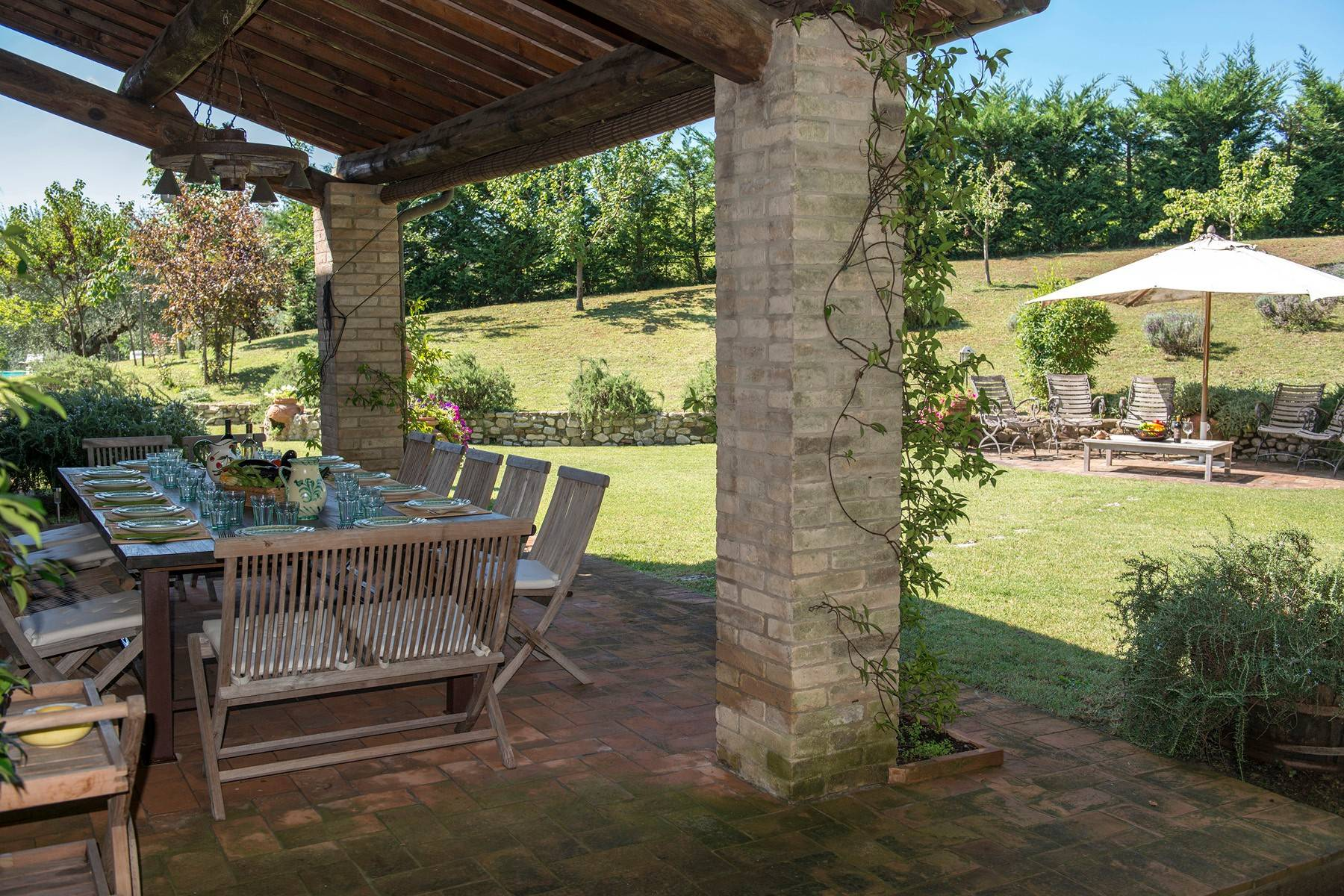 Stunning Farmhouse with pool on the border between Tuscany and Umbria - 18