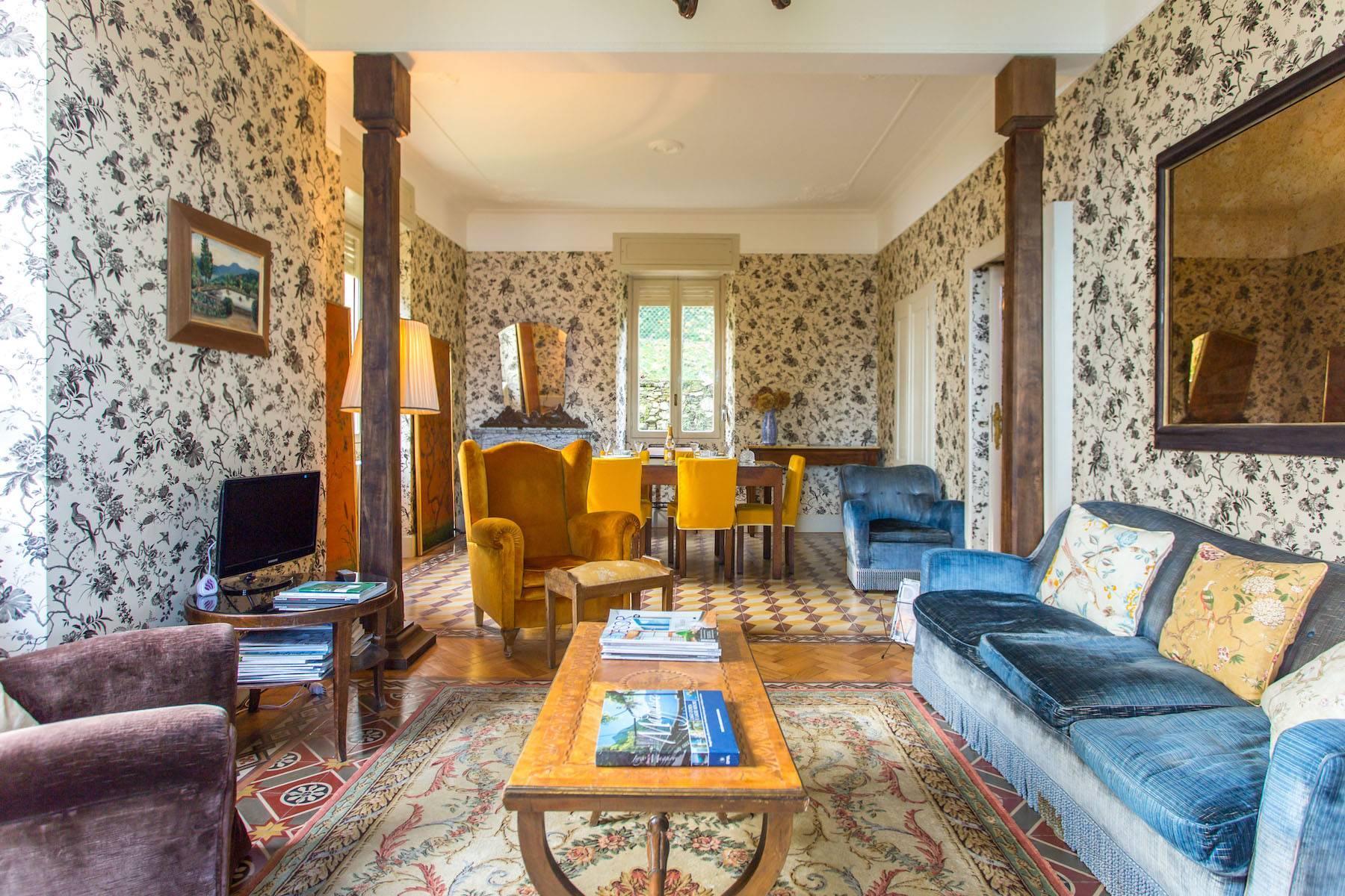 Incantevole Villa in stile Liberty con affaccio mozzafiato sul lago Maggiore e sulle sue isole Borromee - 3