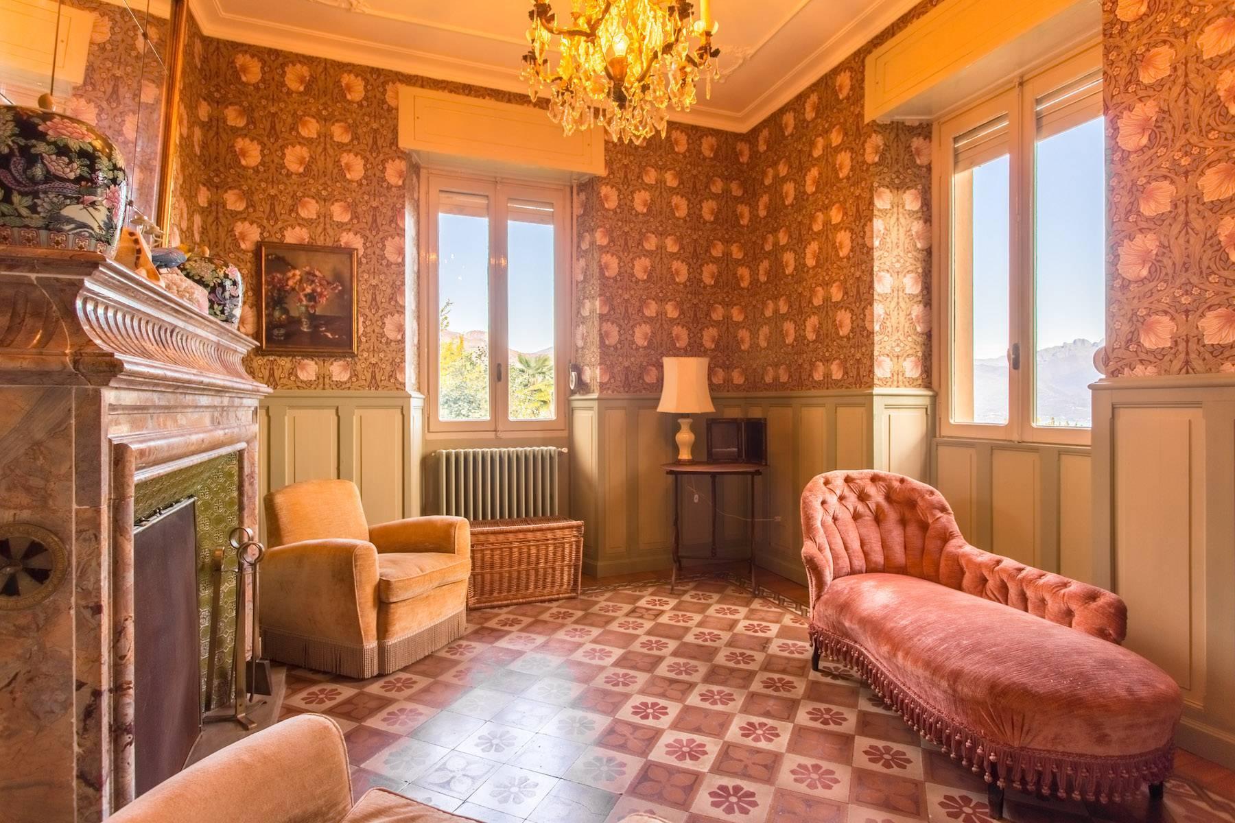Incantevole Villa in stile Liberty con affaccio mozzafiato sul lago Maggiore e sulle sue isole Borromee - 7