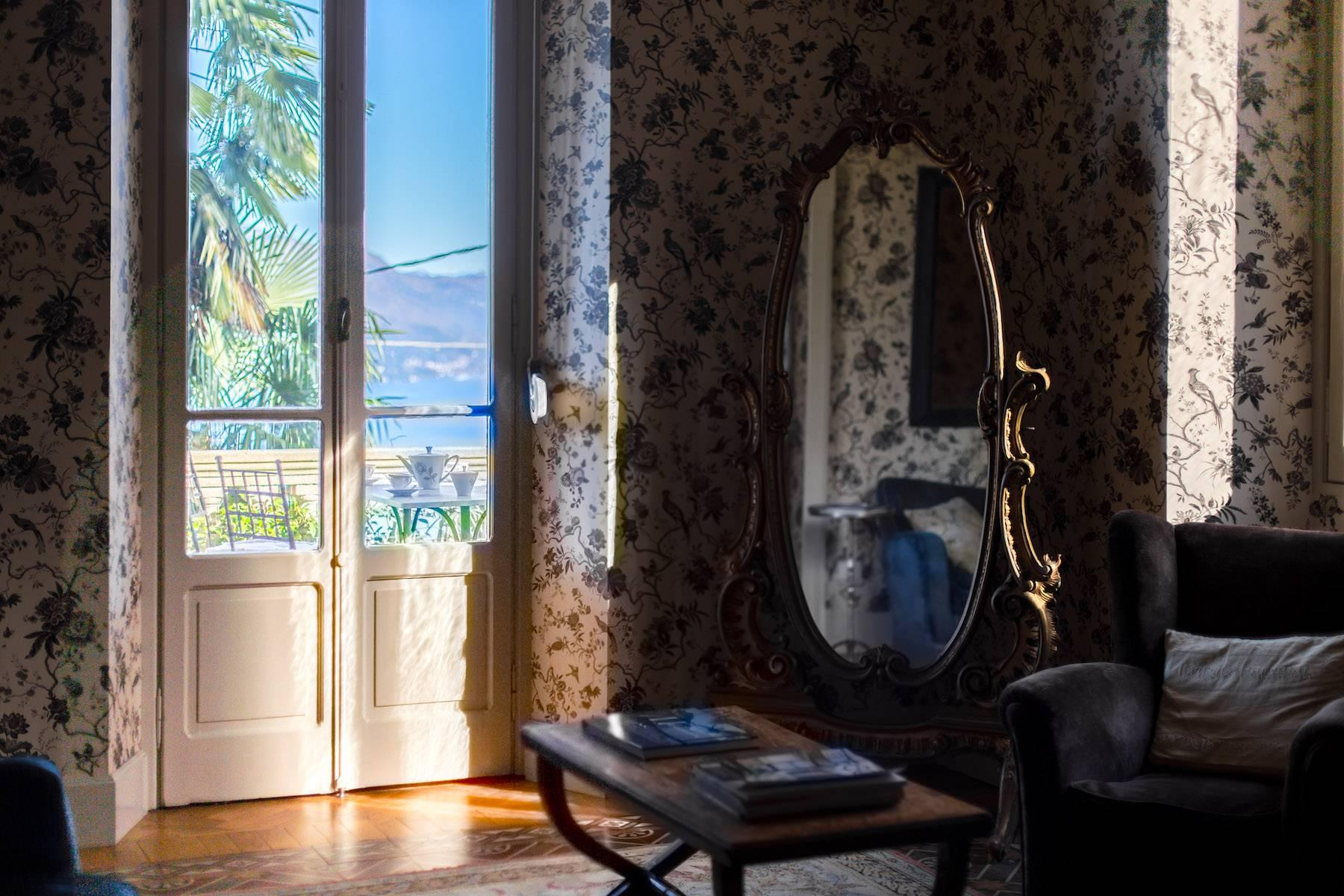 Enchanting Art Nouveau Villa with breathtaking view on Lake Maggiore and its Borromean Islands - 12