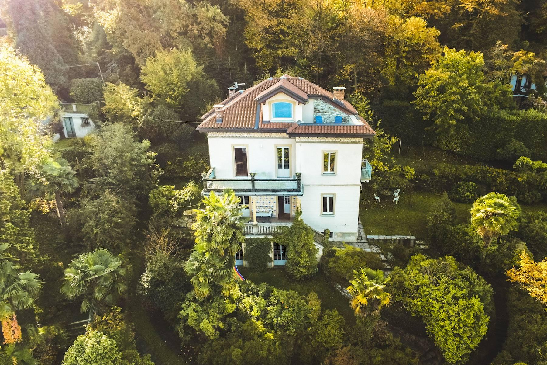 Enchanting Art Nouveau Villa with breathtaking view on Lake Maggiore and its Borromean Islands - 20