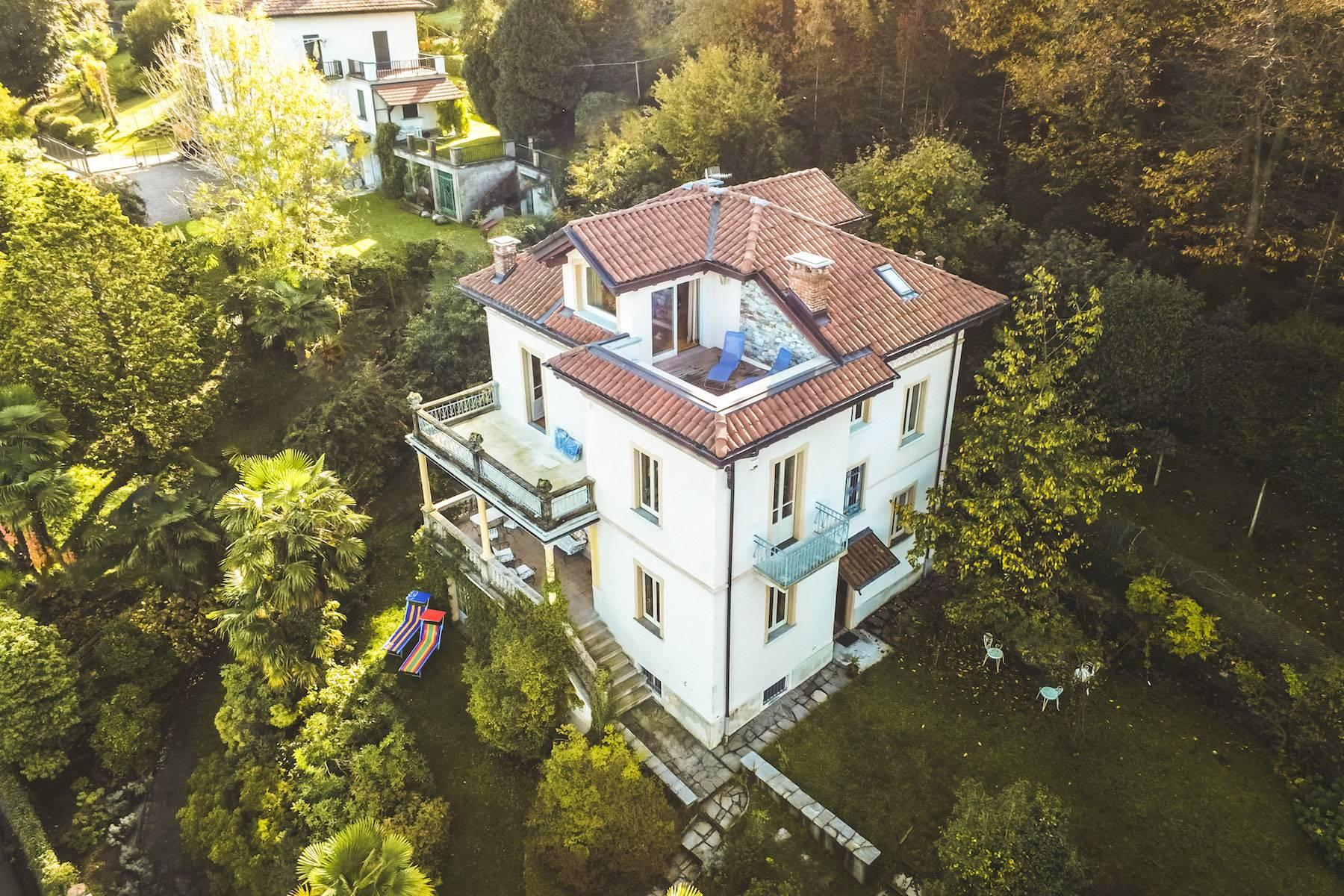 Enchanting Art Nouveau Villa with breathtaking view on Lake Maggiore and its Borromean Islands - 21