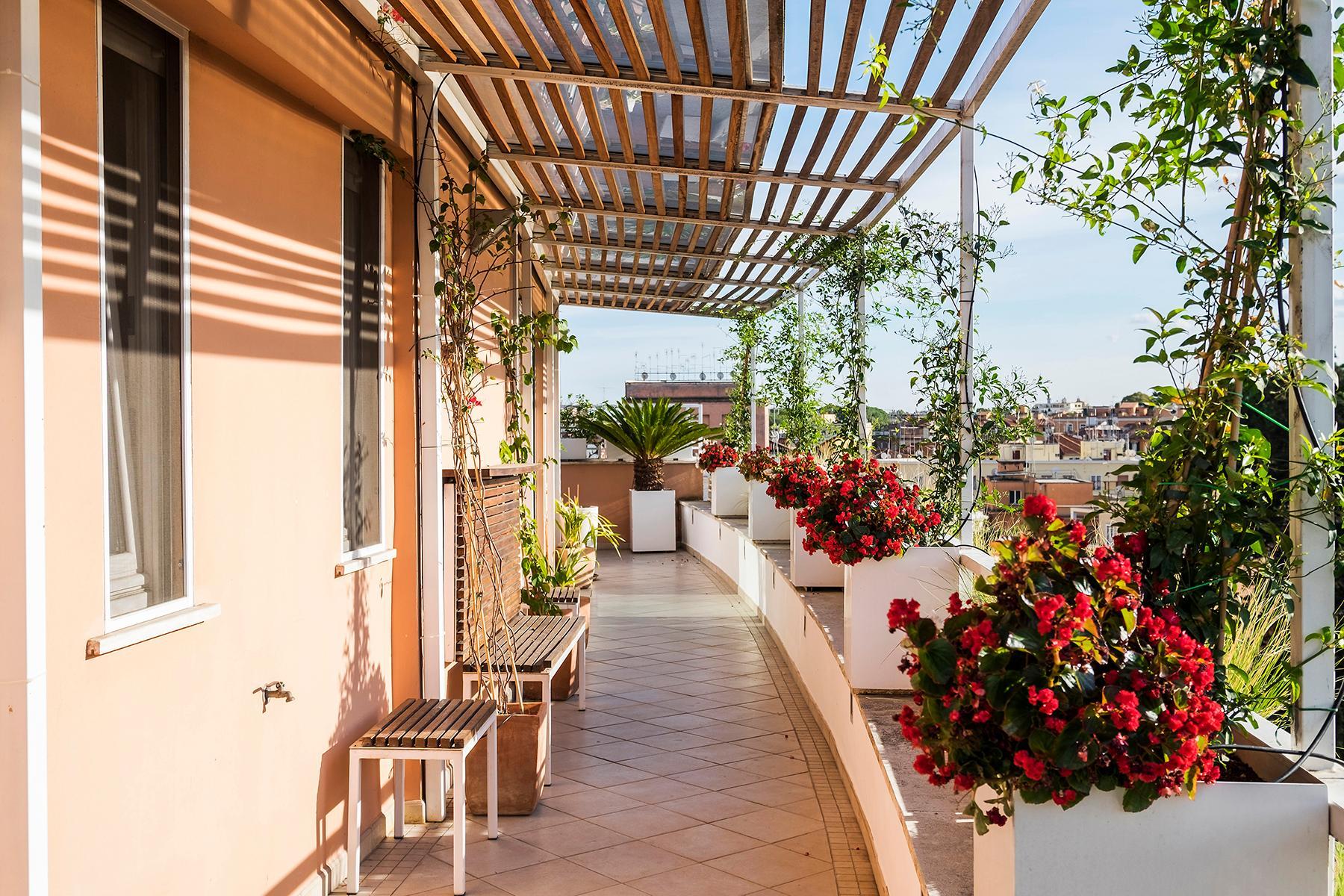 Penthouse élégant près de Villa Ada - 12