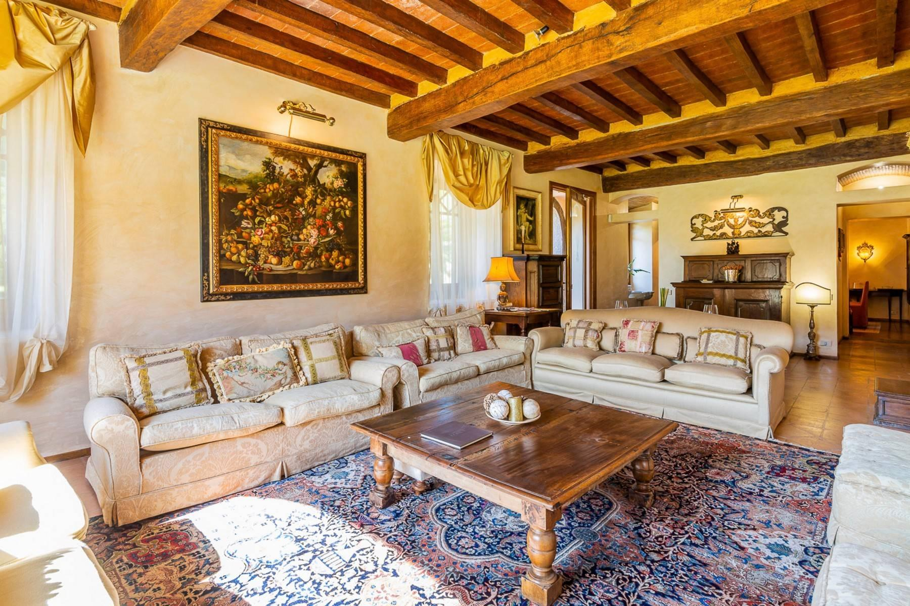 Majestic Luxury Villa with outbuildings on the hills south of Lucca - 6