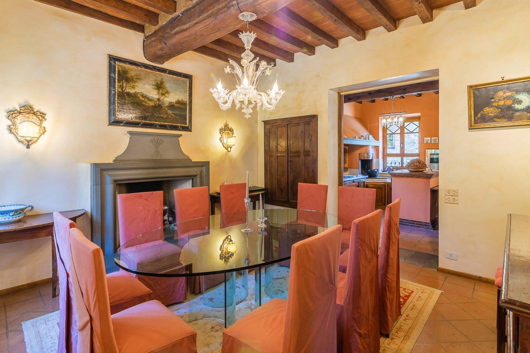 Majestic Luxury Villa with outbuildings on the hills south of Lucca - 8