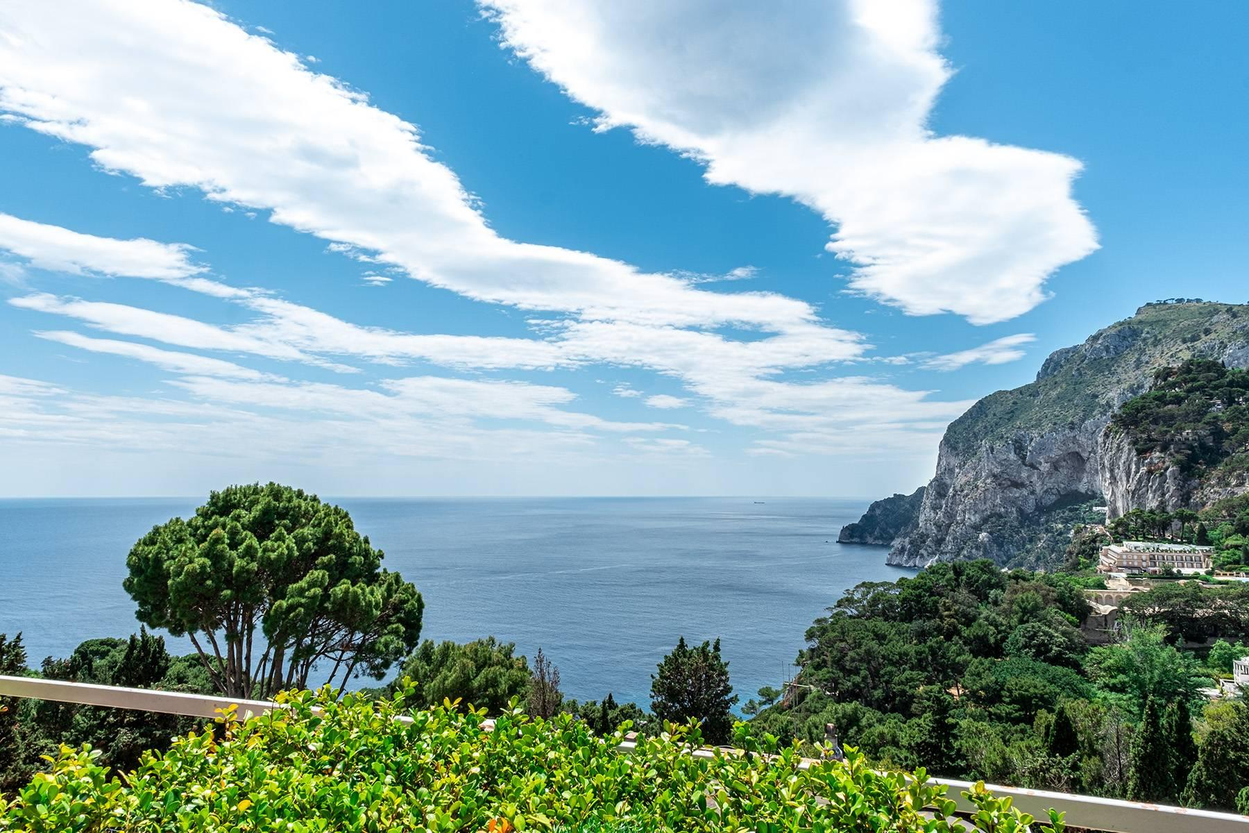Magnificent villa in the center of Capri overlooking the sea - 17