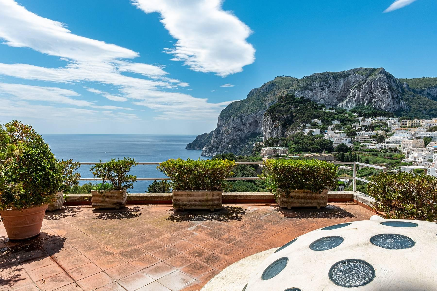 Magnificent villa in the center of Capri overlooking the sea - 16
