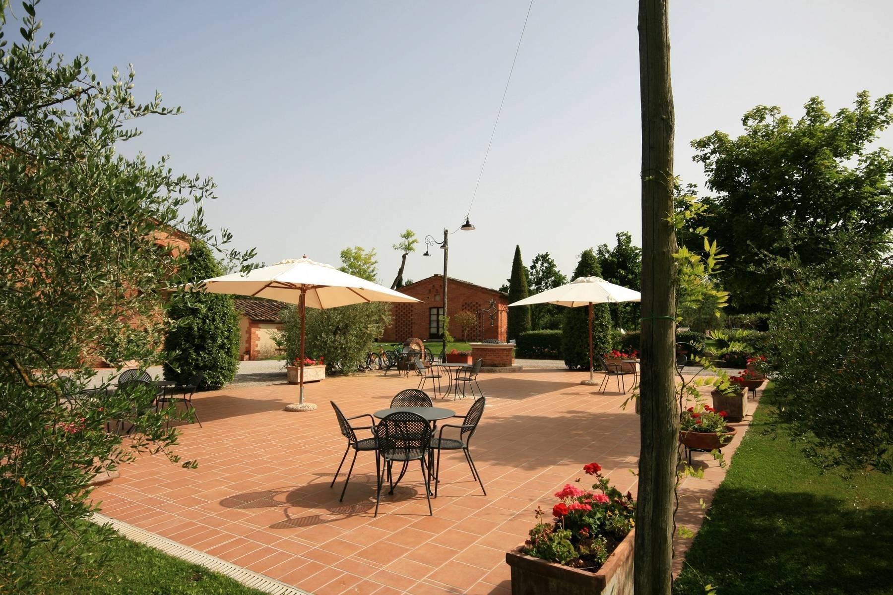Antico casale B&B con piscina a Montepulciano - 14