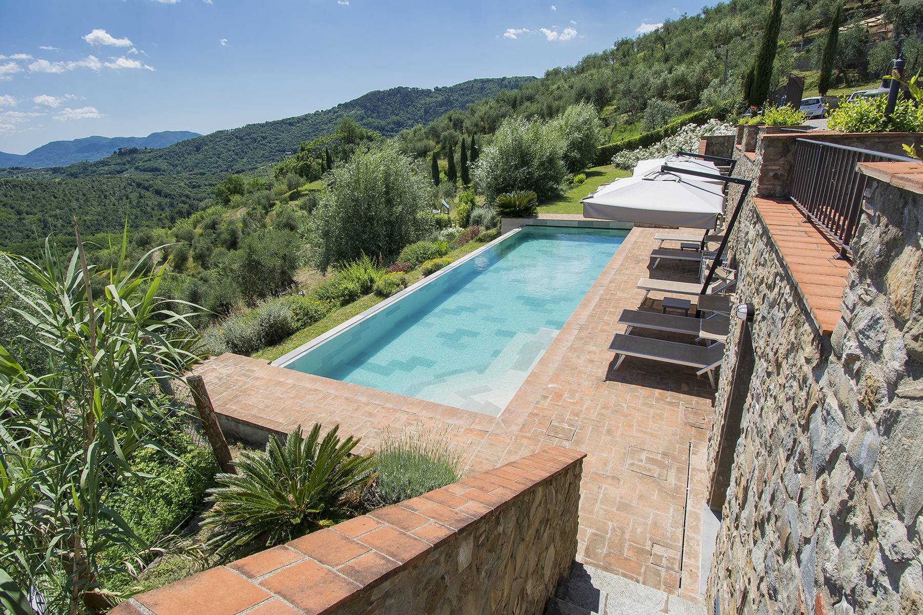 Stunning Country villa on the hills of Lucca with vineyard - 2