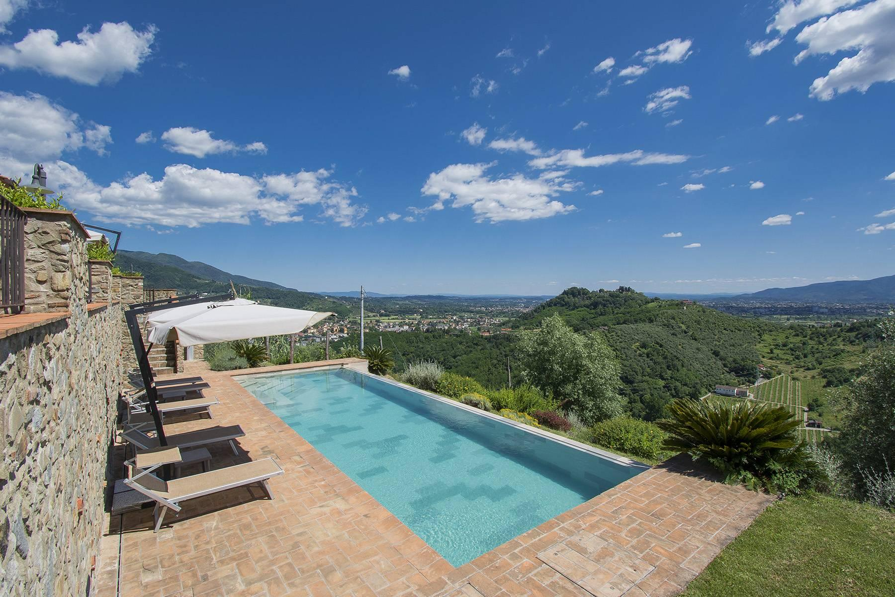 Stunning Country villa on the hills of Lucca with vineyard - 26