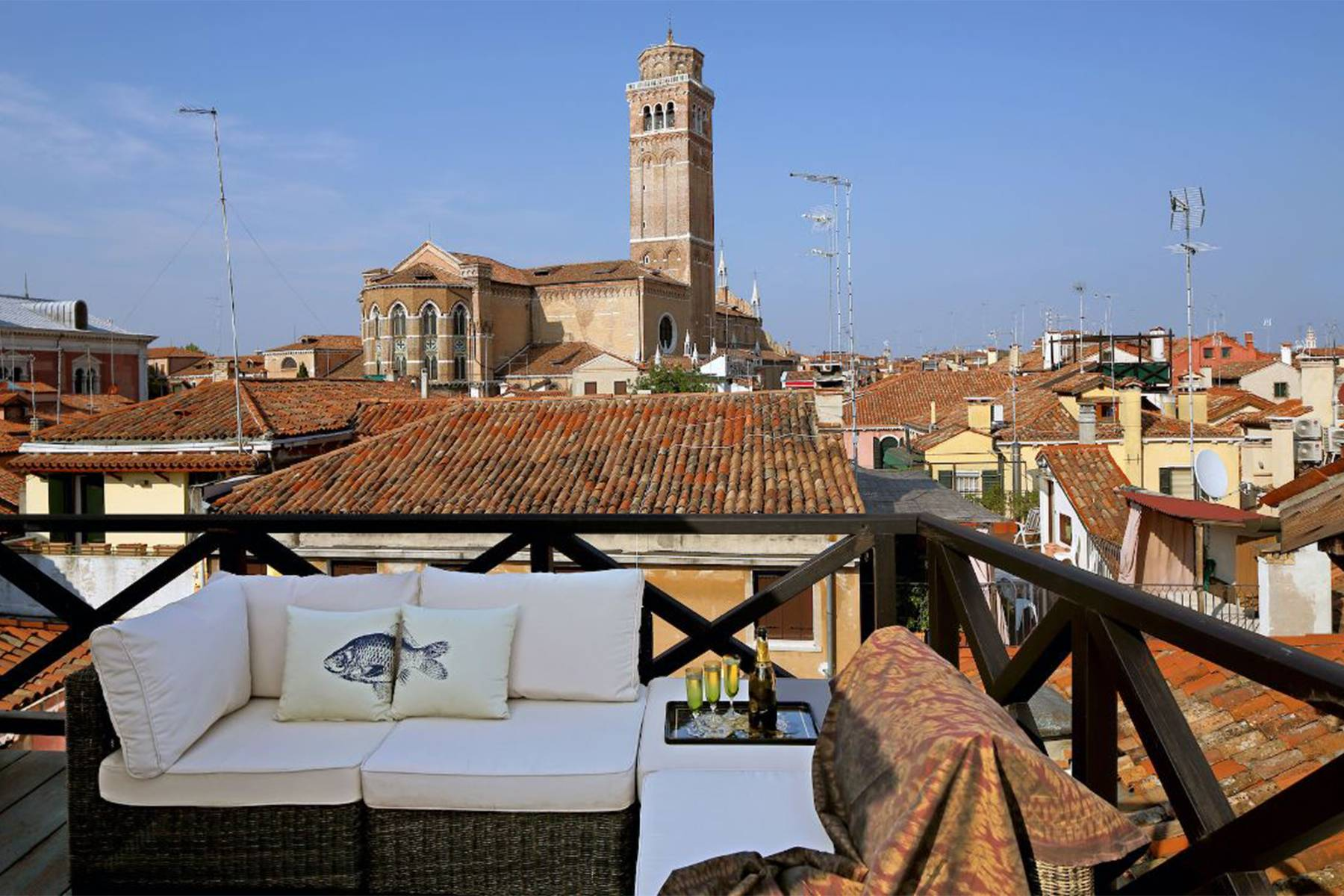 Frari stylish 4 storey house with altana terrace - 5