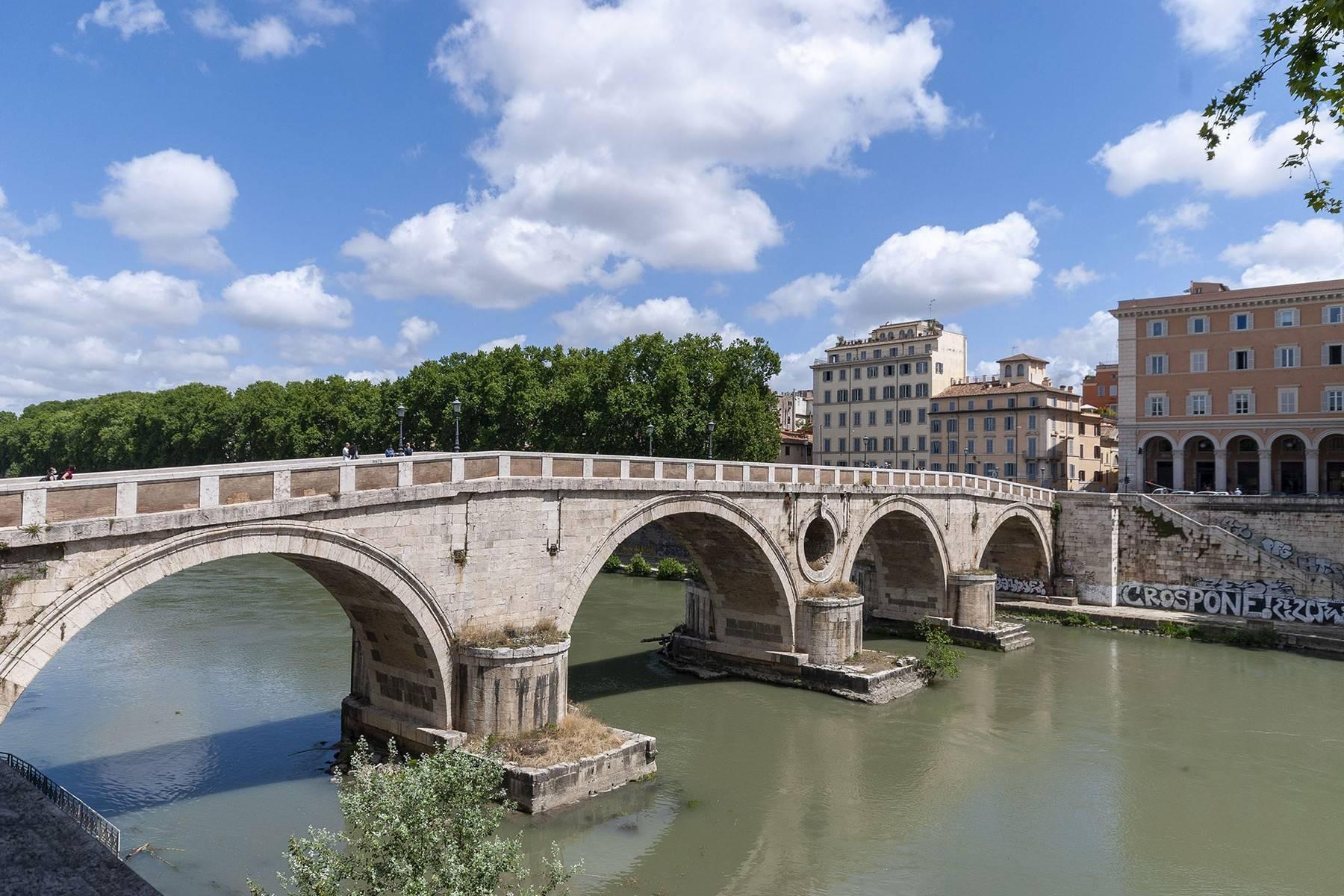 Charmant appartement avec vue sur le Tibre et les toits de Rome - 13