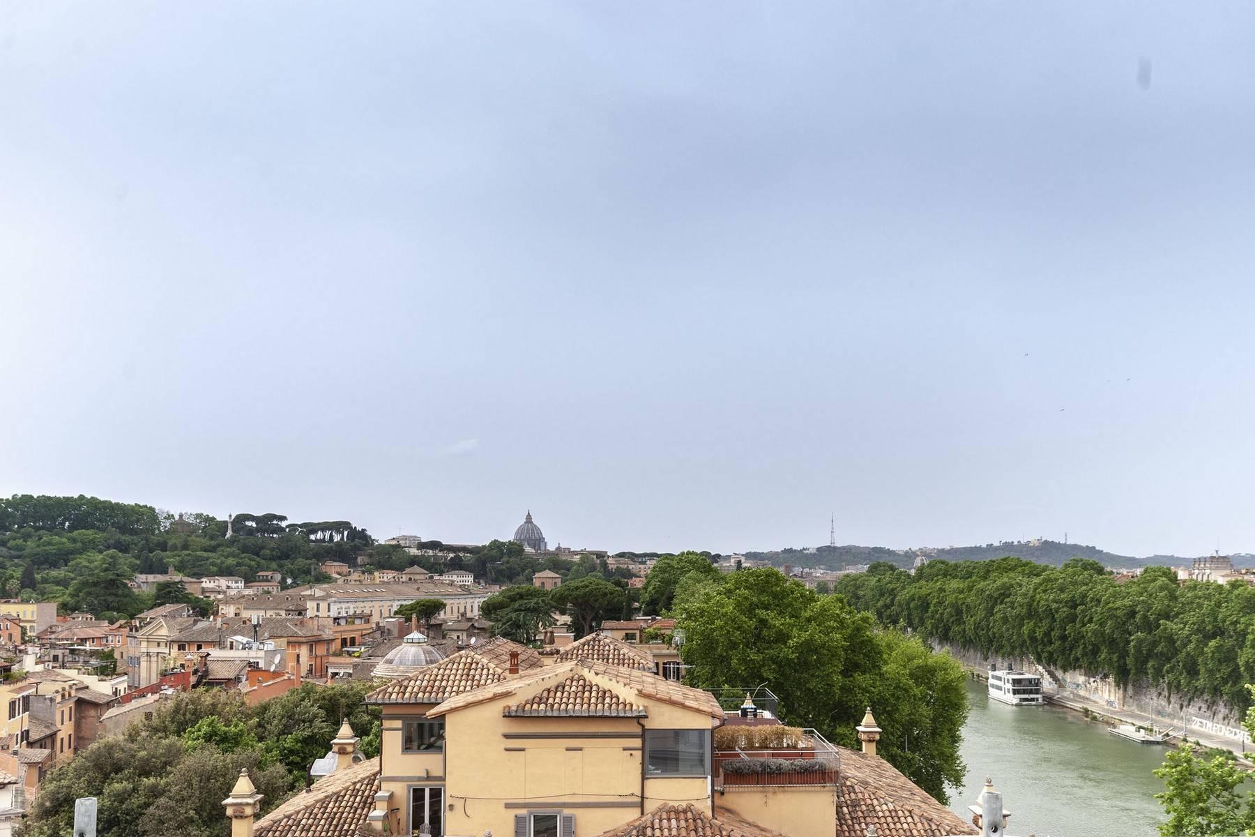 Charmant appartement avec vue sur le Tibre et les toits de Rome - 14