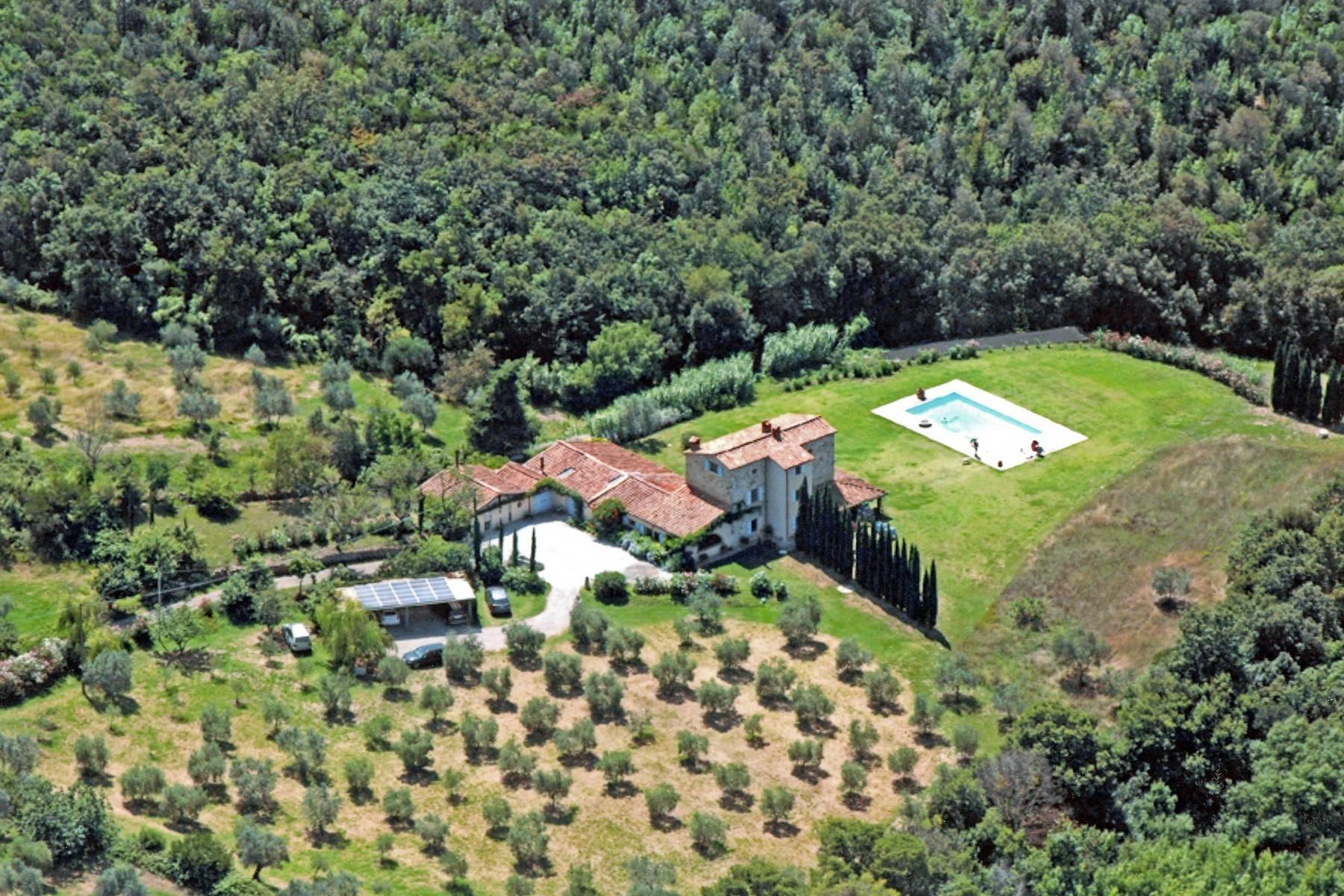 托斯卡纳地区拥有游泳池惬意的别墅 - 1