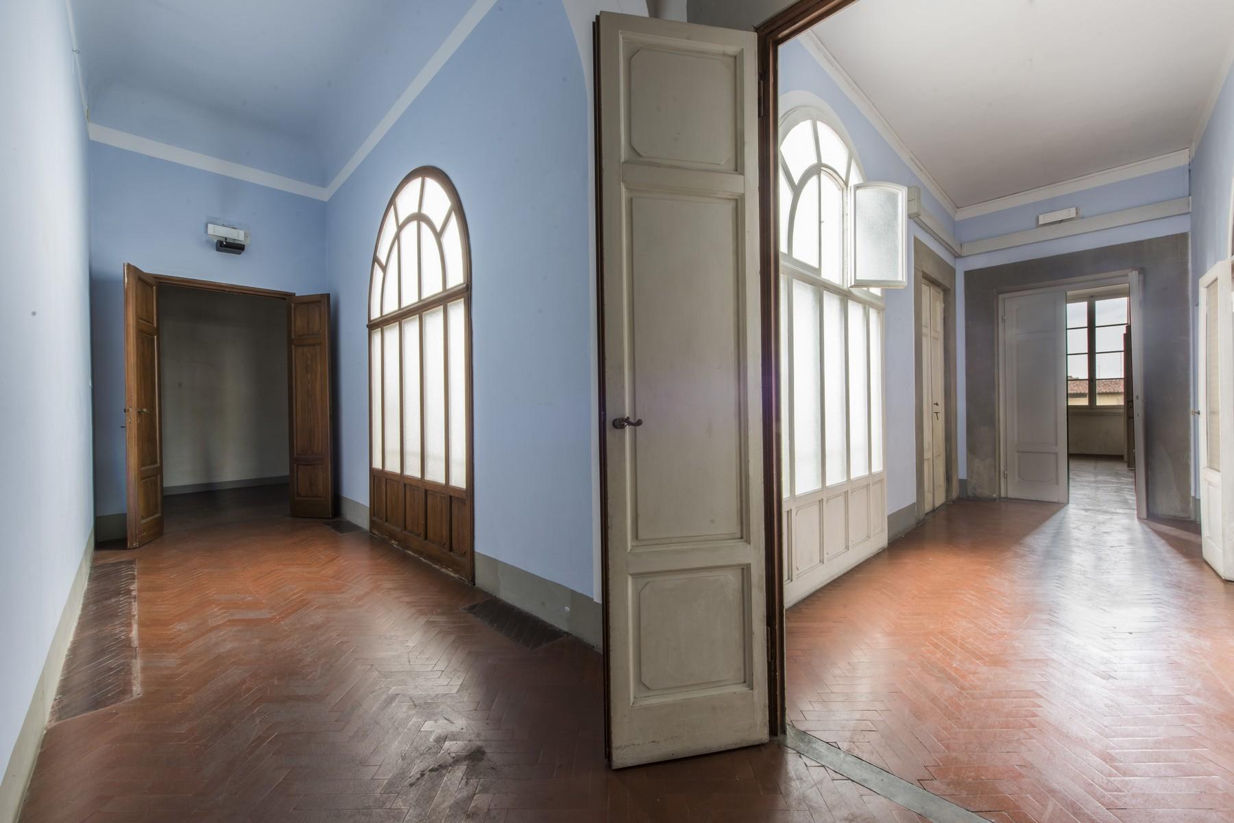 Prestigioso attico di 520mq in un palazzo storico fiorentino. - 7