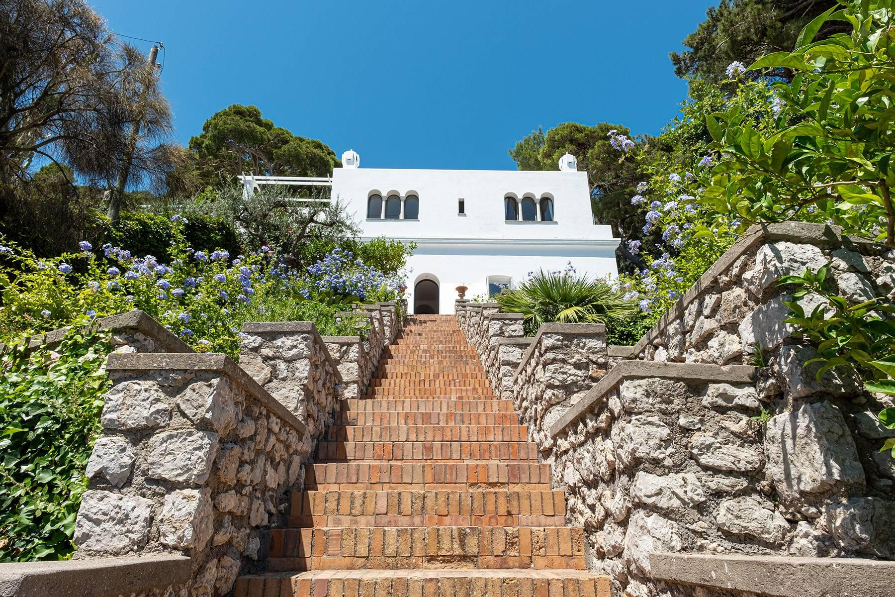 Stunning villa with swimming pool overlooking Capri and the sea - 25