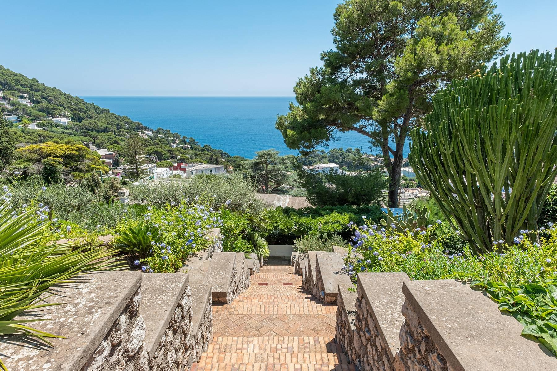 Stunning villa with swimming pool overlooking Capri and the sea - 34
