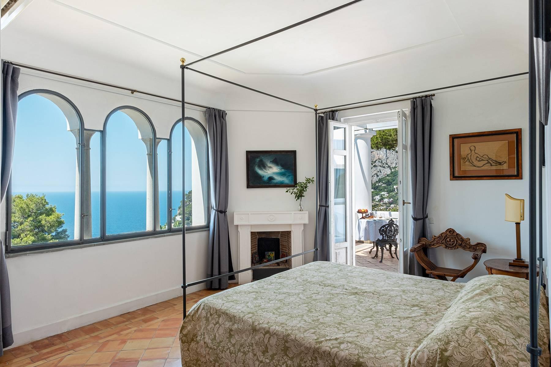 Superbe villa avec piscine donnant sur Capri et la mer - 20