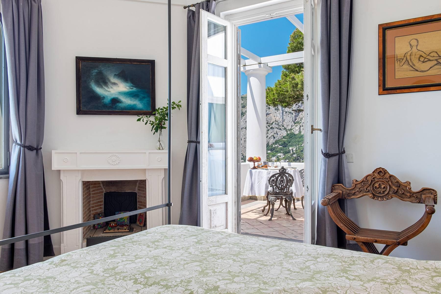 Superbe villa avec piscine donnant sur Capri et la mer - 21