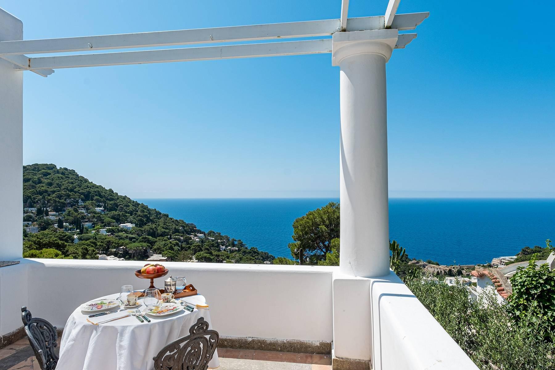 Superbe villa avec piscine donnant sur Capri et la mer - 15