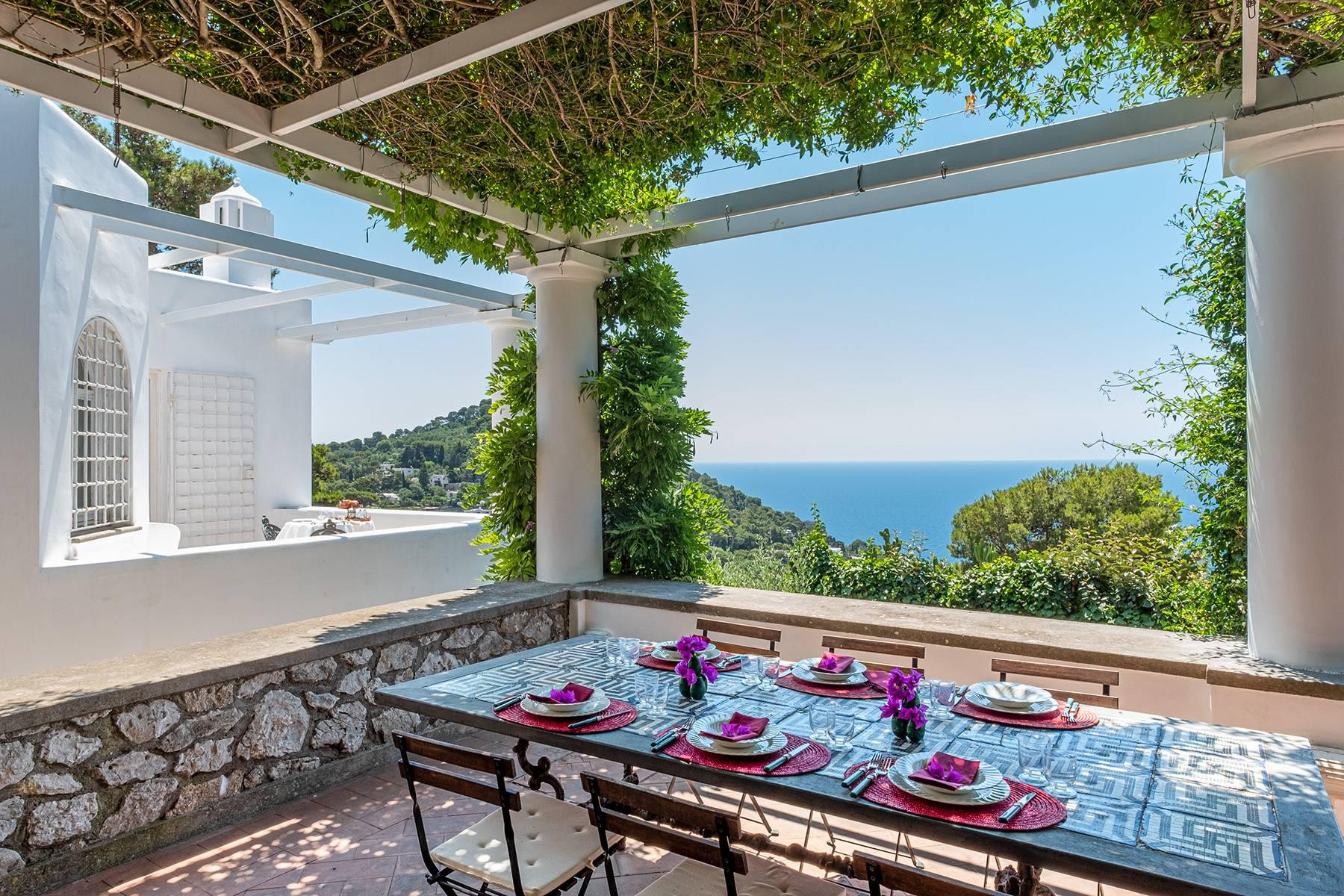 Stunning villa with swimming pool overlooking Capri and the sea - 2