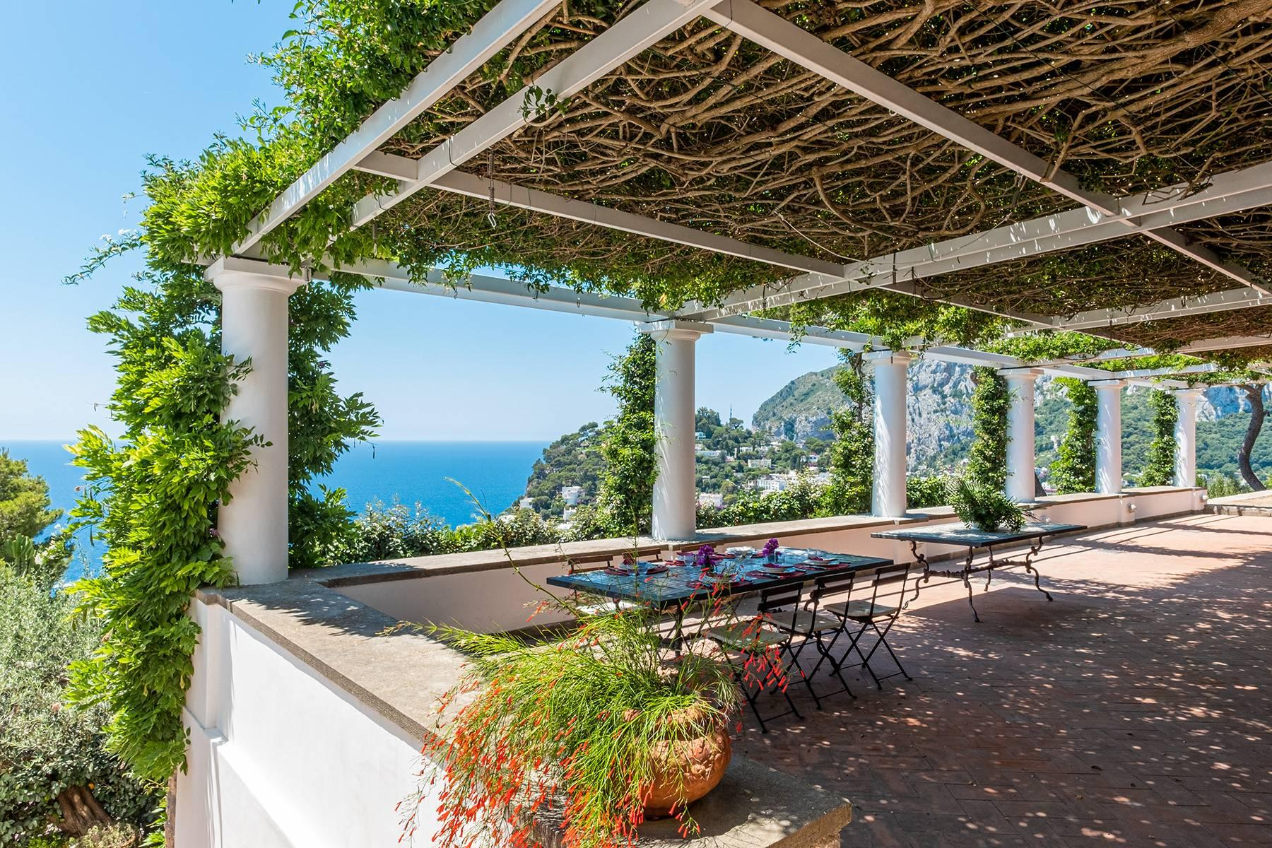 Stunning villa with swimming pool overlooking Capri and the sea - 1