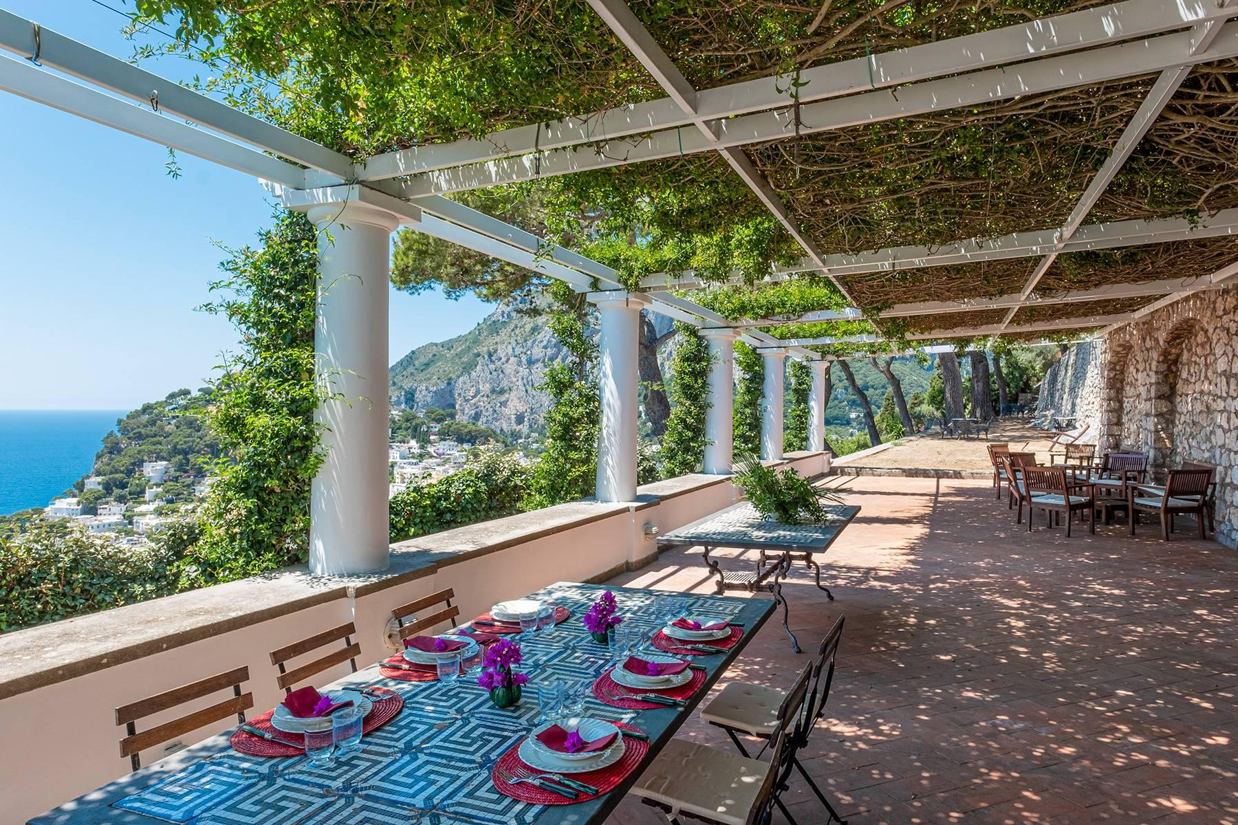 Stunning villa with swimming pool overlooking Capri and the sea - 3