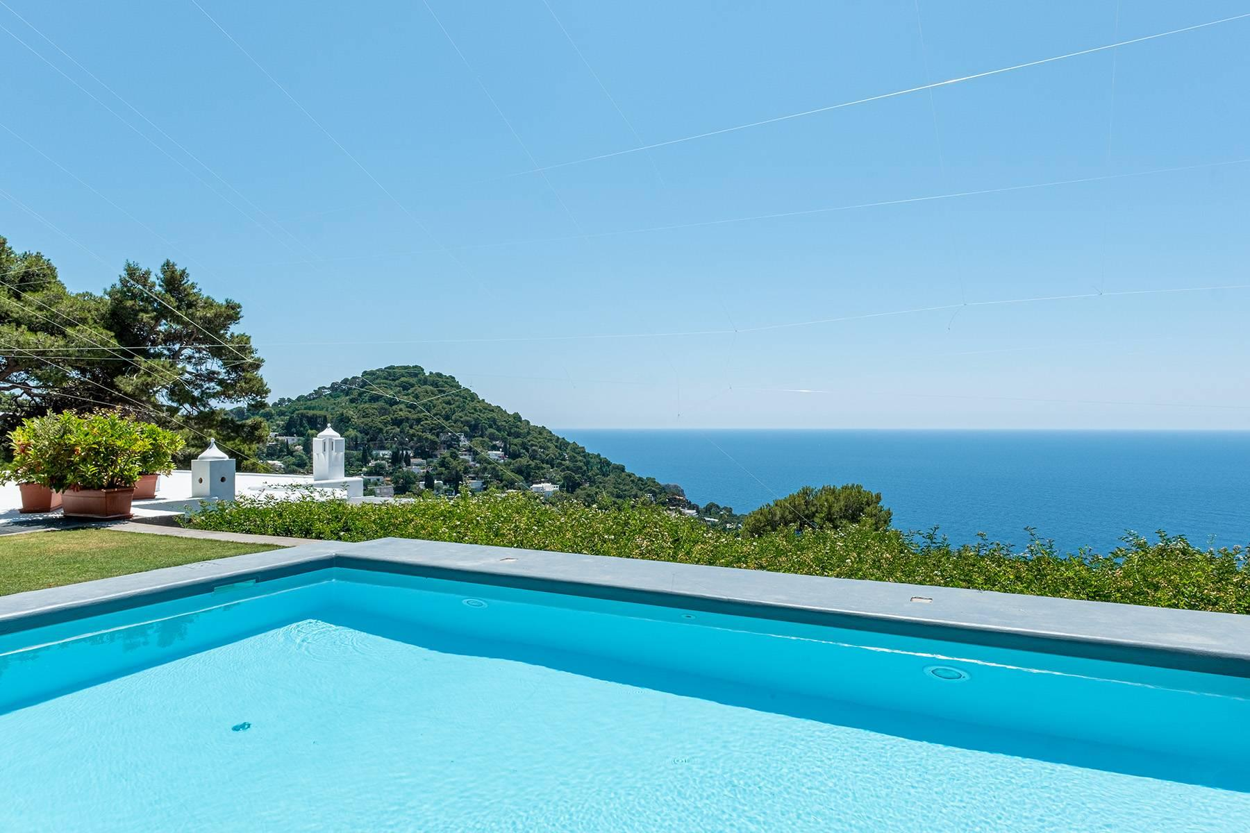 Stunning villa with swimming pool overlooking Capri and the sea - 29