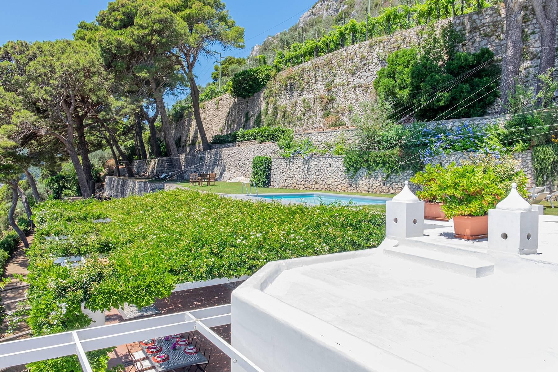 Stunning villa with swimming pool overlooking Capri and the sea - 32