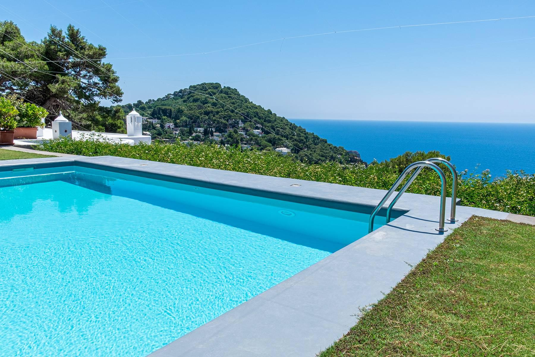Stunning villa with swimming pool overlooking Capri and the sea - 30