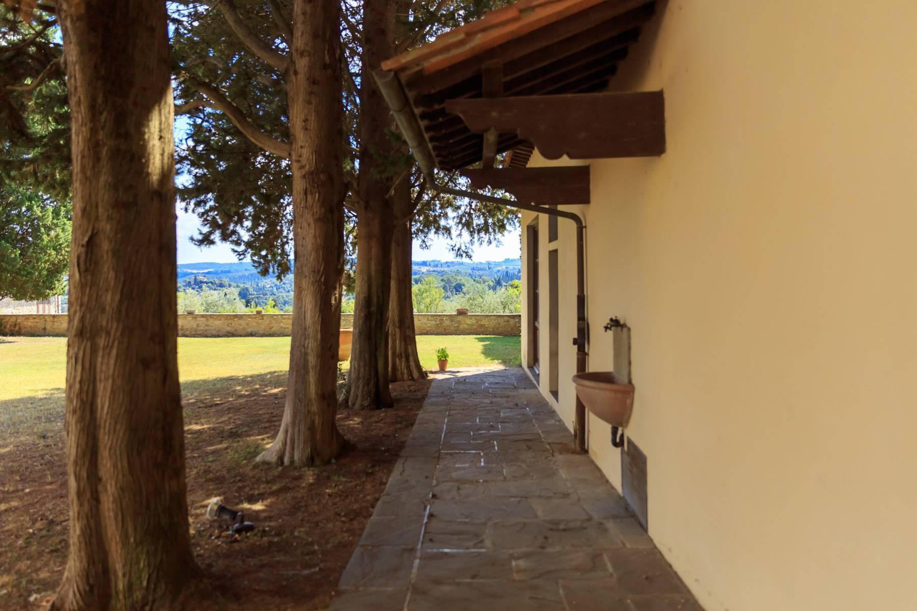 Grande villa antica con oliveto a 10 minuti da Firenze - 12