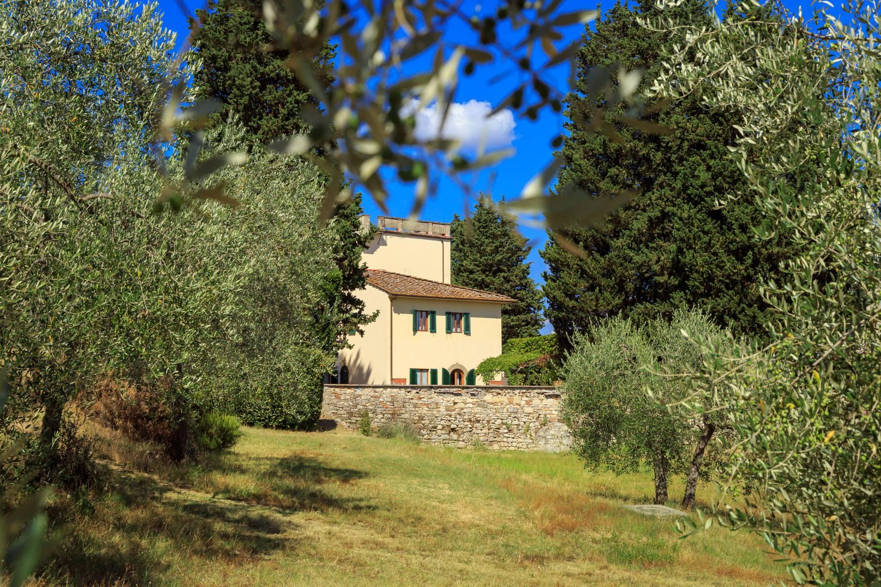 Large period villa with olive grove at 10 minutes' drive from Florence - 6