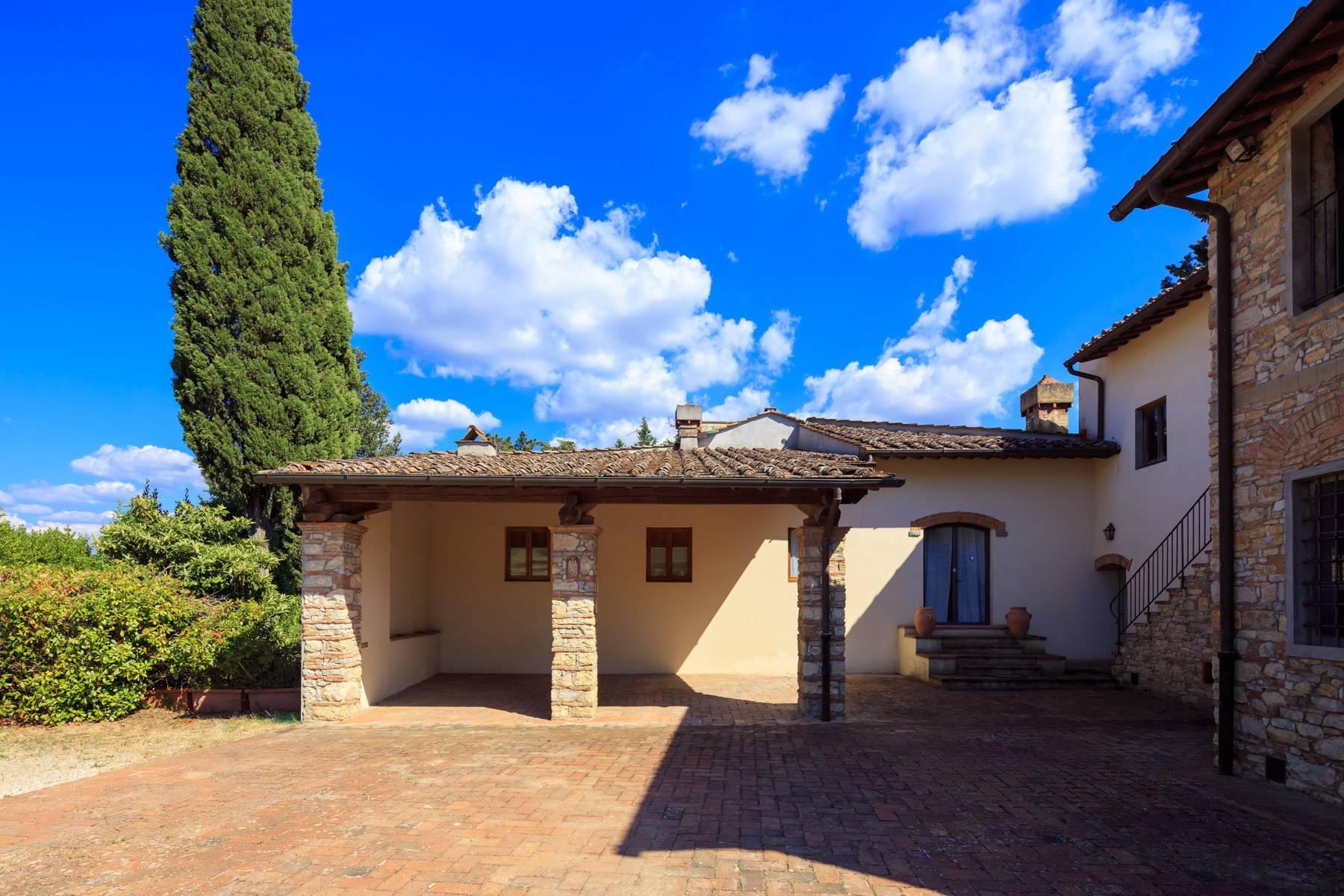 Grande villa antica con oliveto a 10 minuti da Firenze - 16