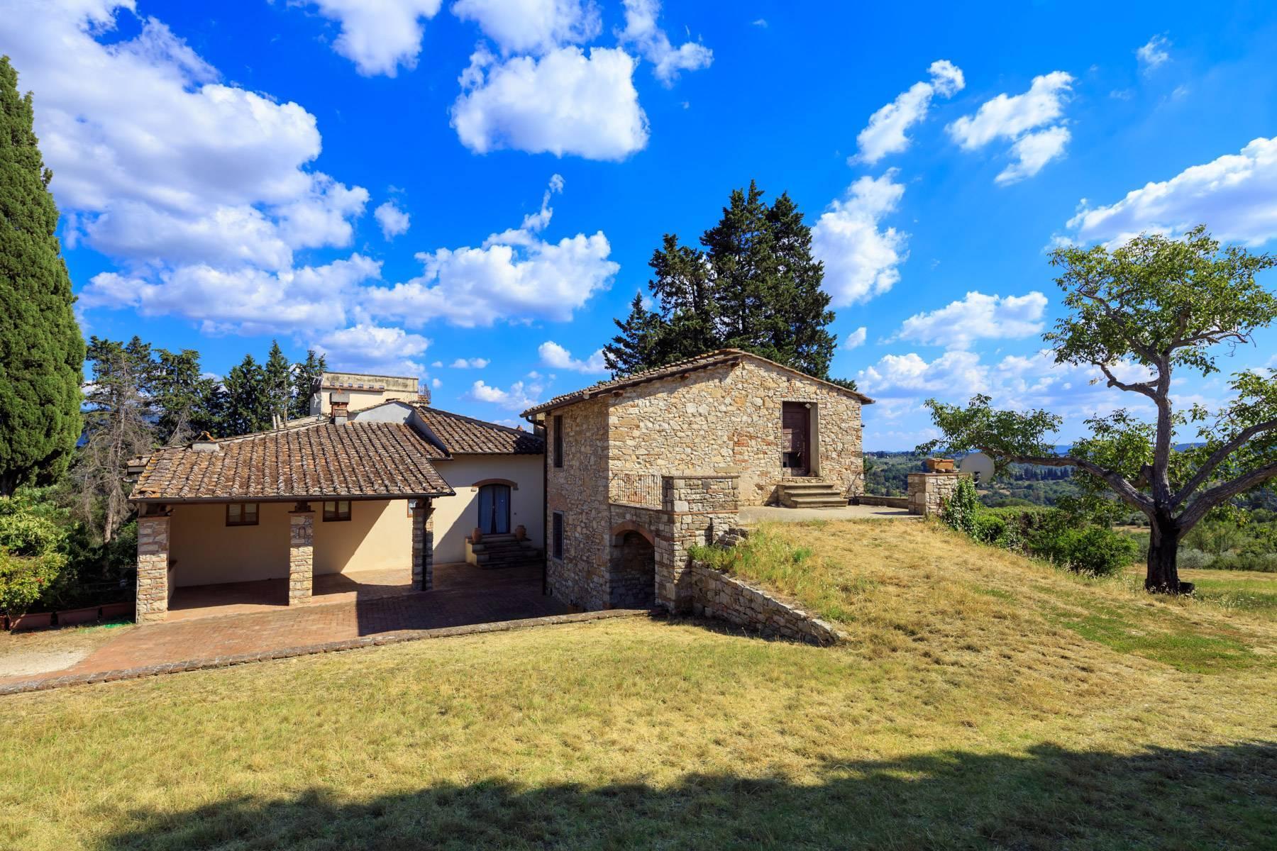 Grande villa antica con oliveto a 10 minuti da Firenze - 20