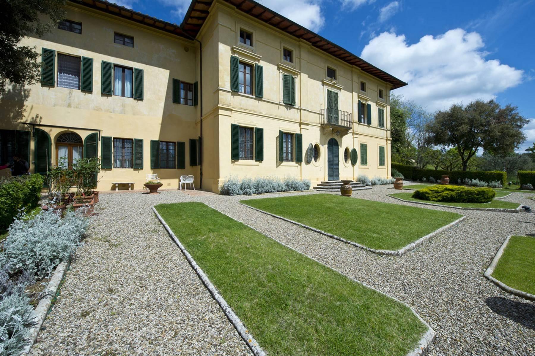 Villa aristocratique à vendre sur les collines de Sienne - 2