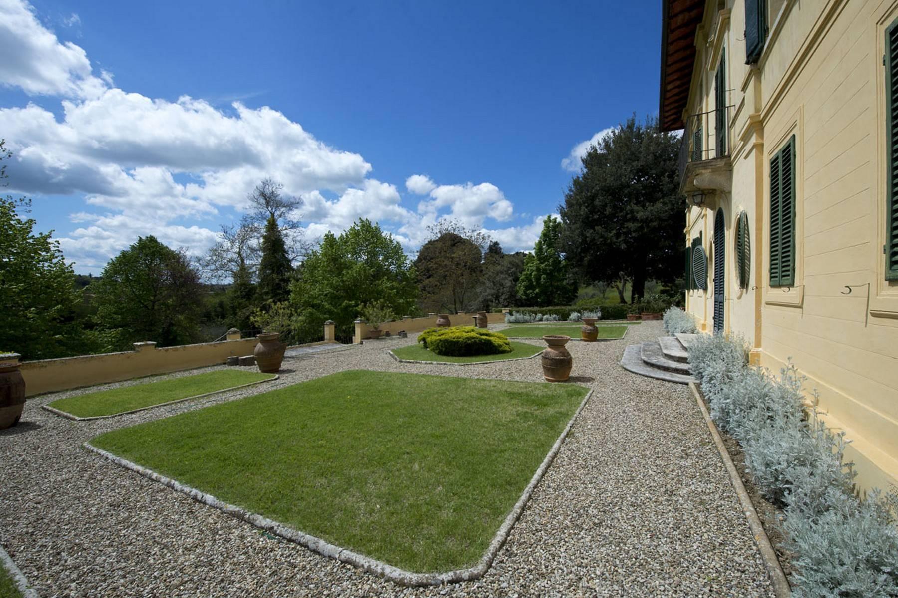 Villa aristocratique à vendre sur les collines de Sienne - 21