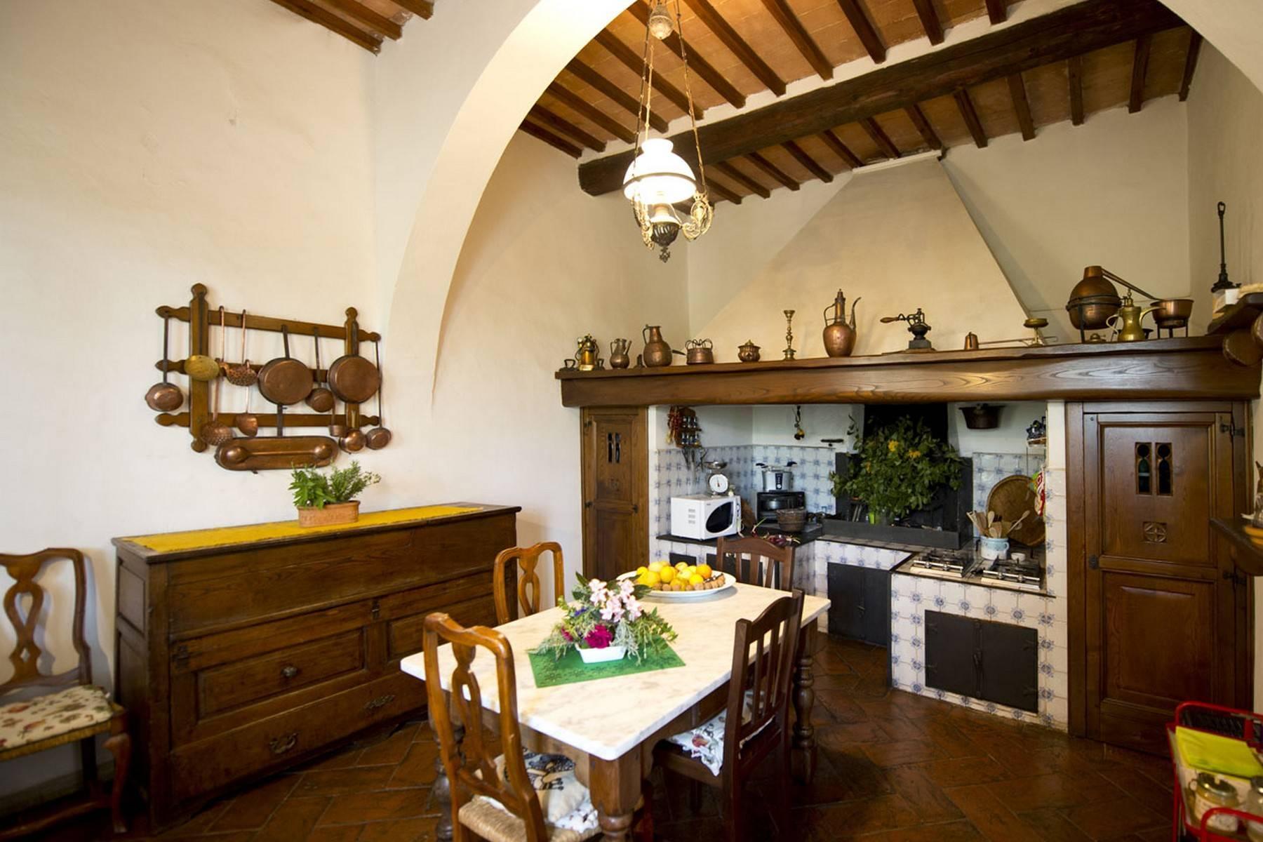 Villa aristocratique à vendre sur les collines de Sienne - 11